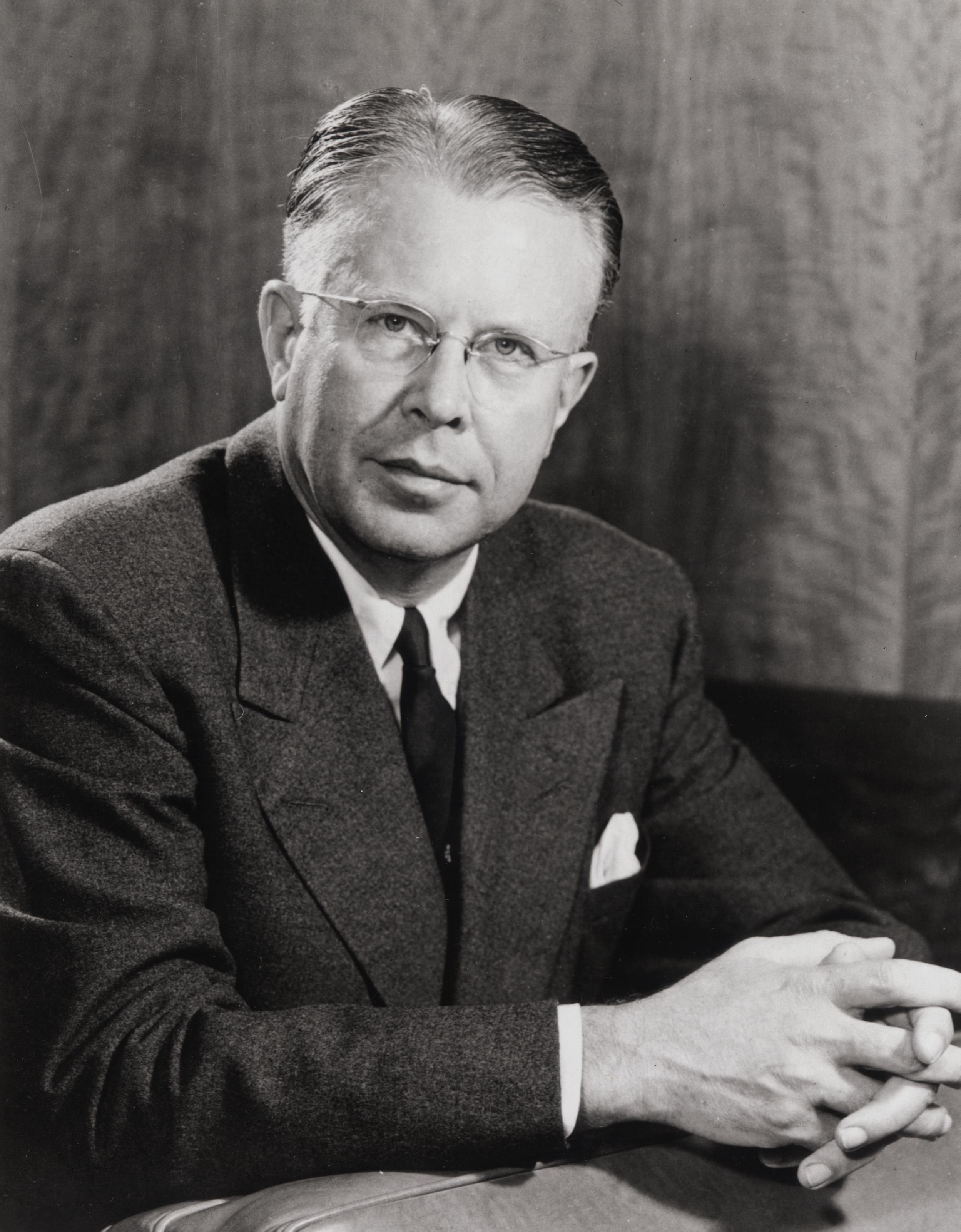 Depiction of Ernest Lawrence