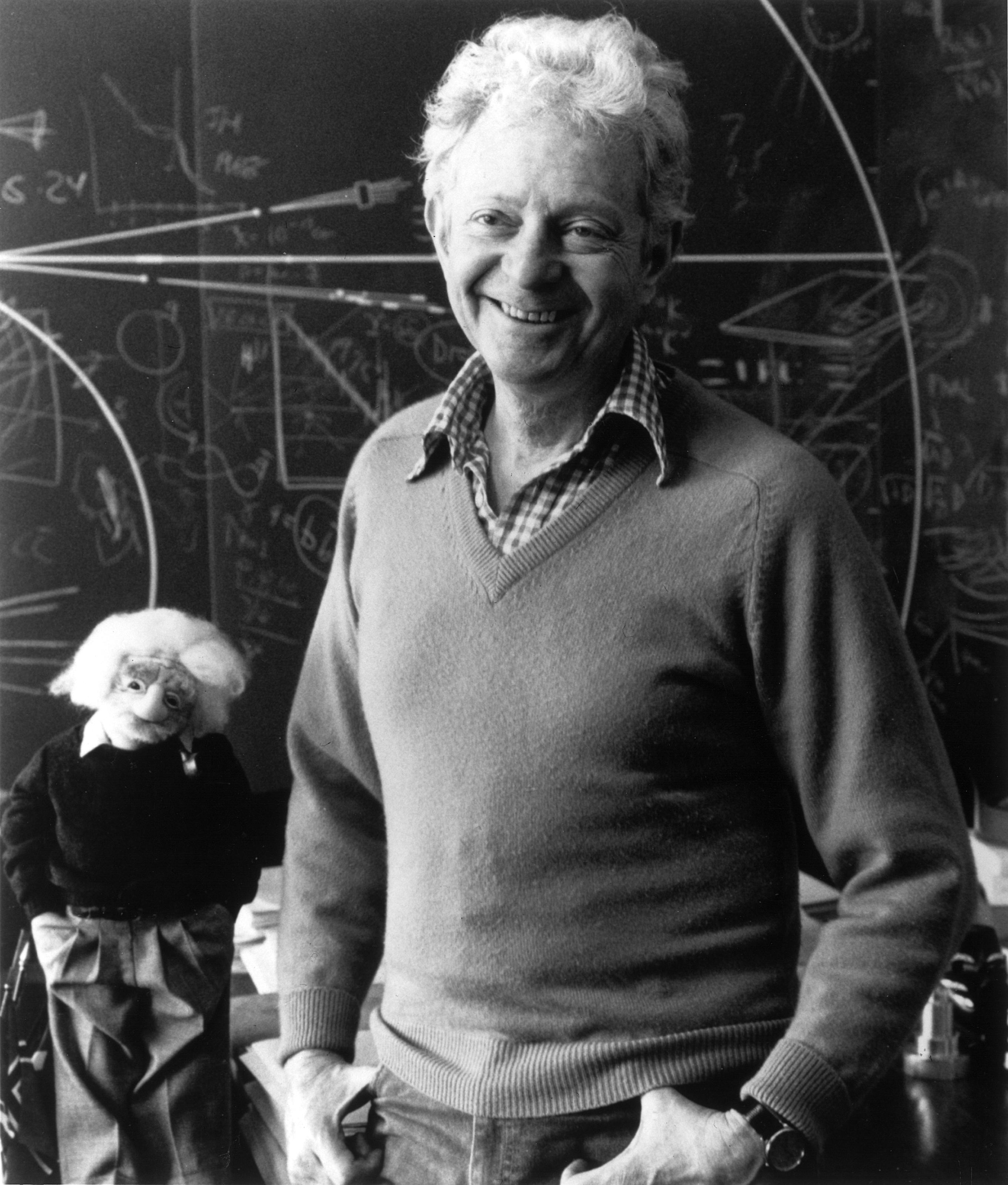 Lederman makes physics exciting for young people (Lederman Science Center at Fermilab)