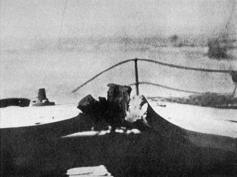 File Hms Lion Shell Damage To Q Turret Roof After Jutland