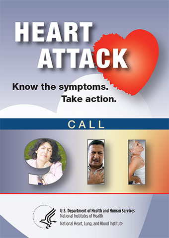 Heart attack fear and chest pain