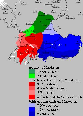 Oberdeutsch bei Wikipedia