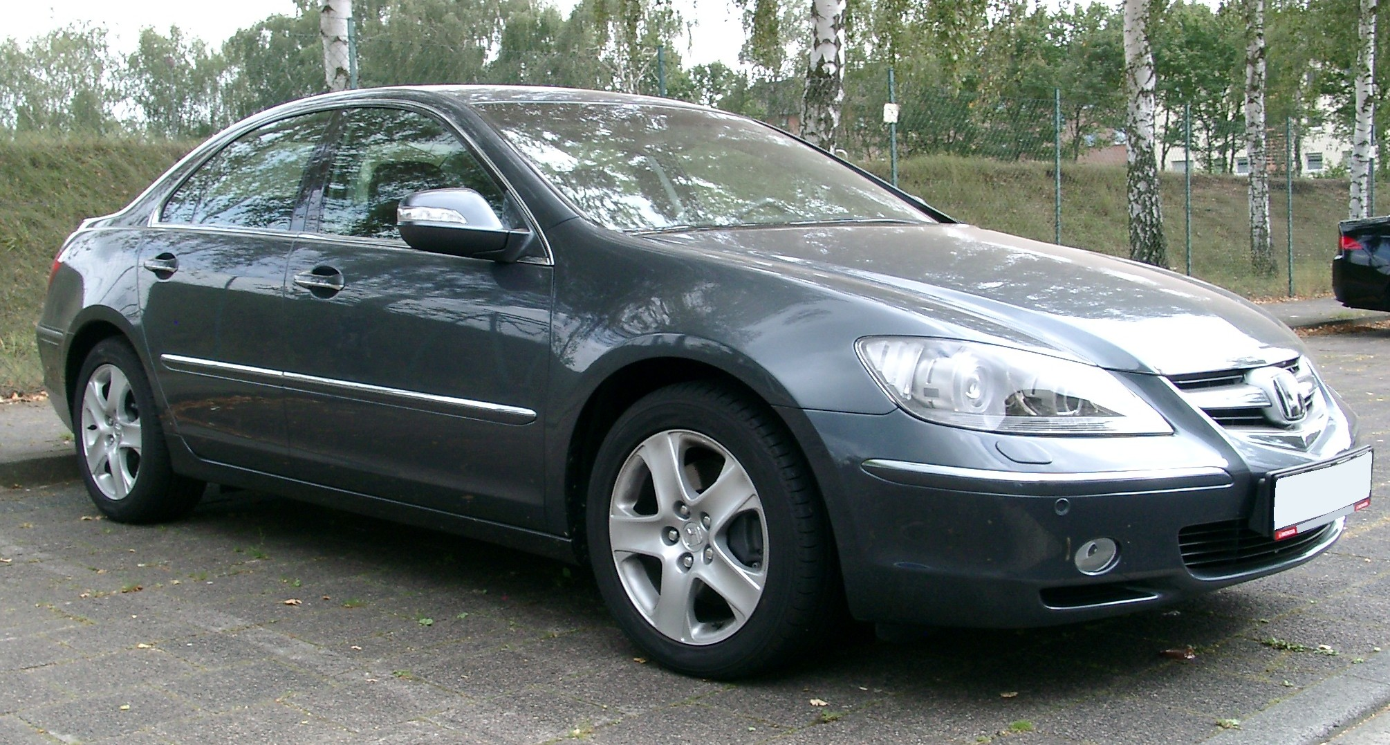 File Honda Legend Front 20070831 Jpg Wikimedia Commons