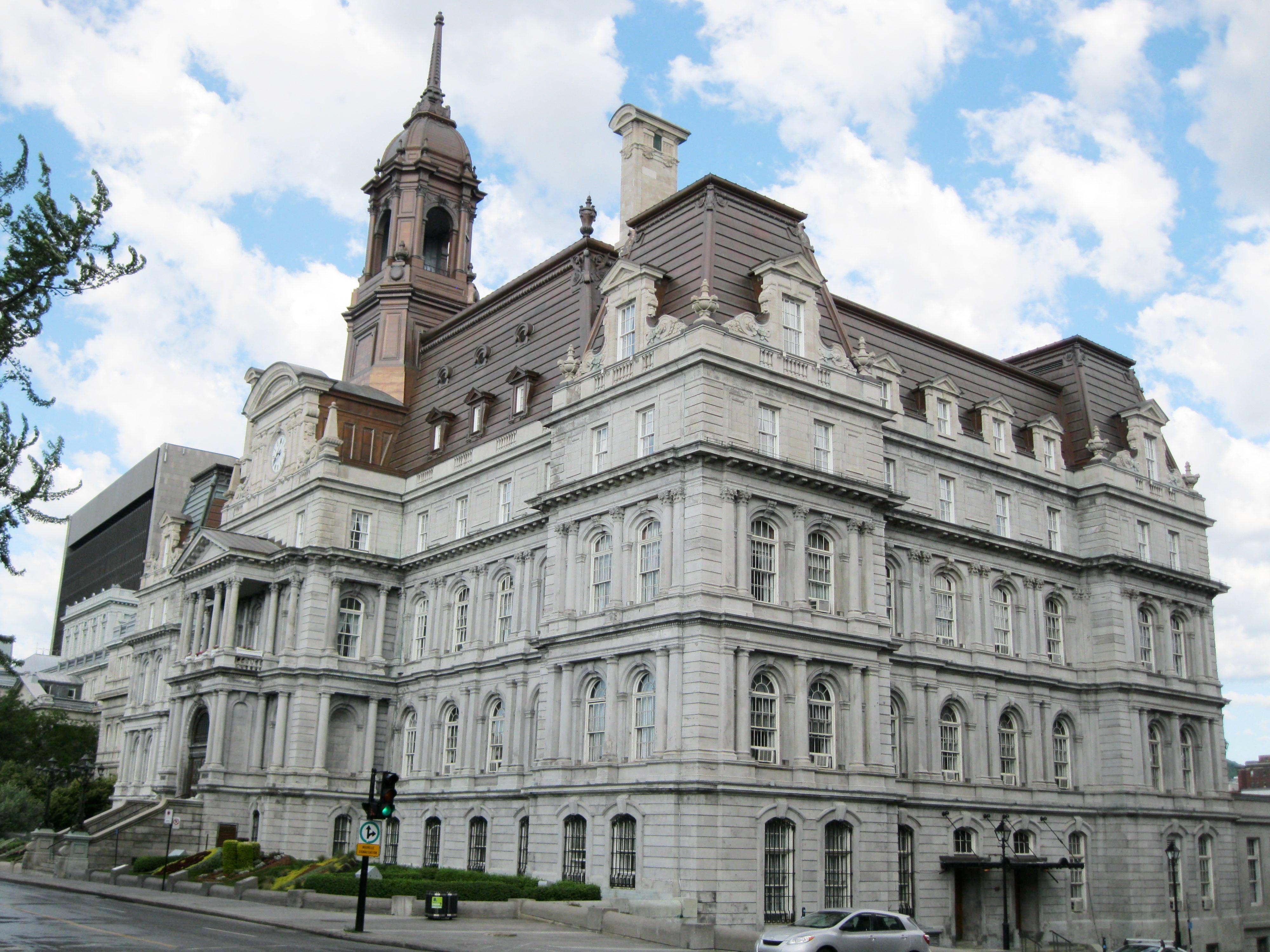Montreal city hall wikipedia
