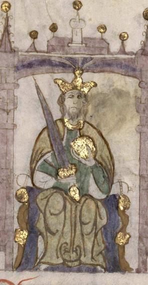 Wikipedia--Iñigo Arista de Pamplona - Compendio de crónicas de reyes (Biblioteca Nacional de España).