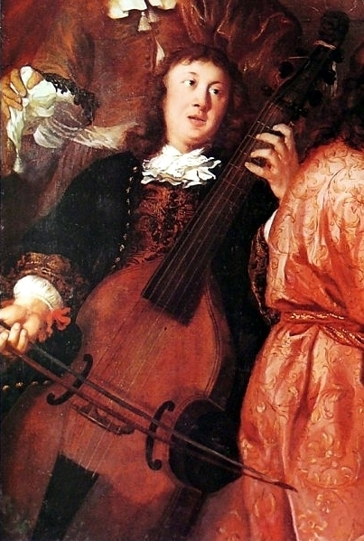 Depiction of Dietrich Buxtehude