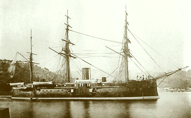 Japanese ironclad Fusō.jpg
