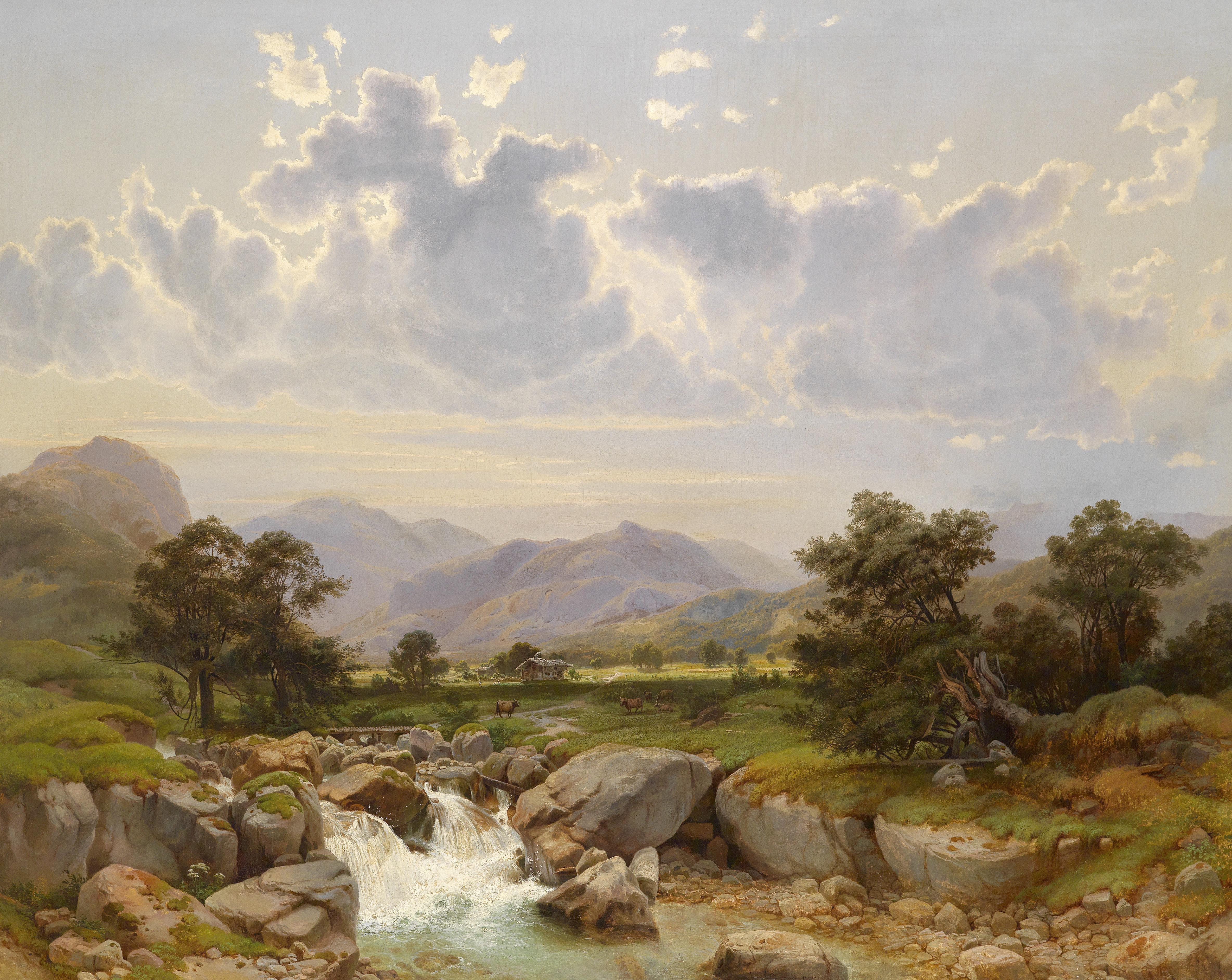 Famous Austrian Landscapes Paintings