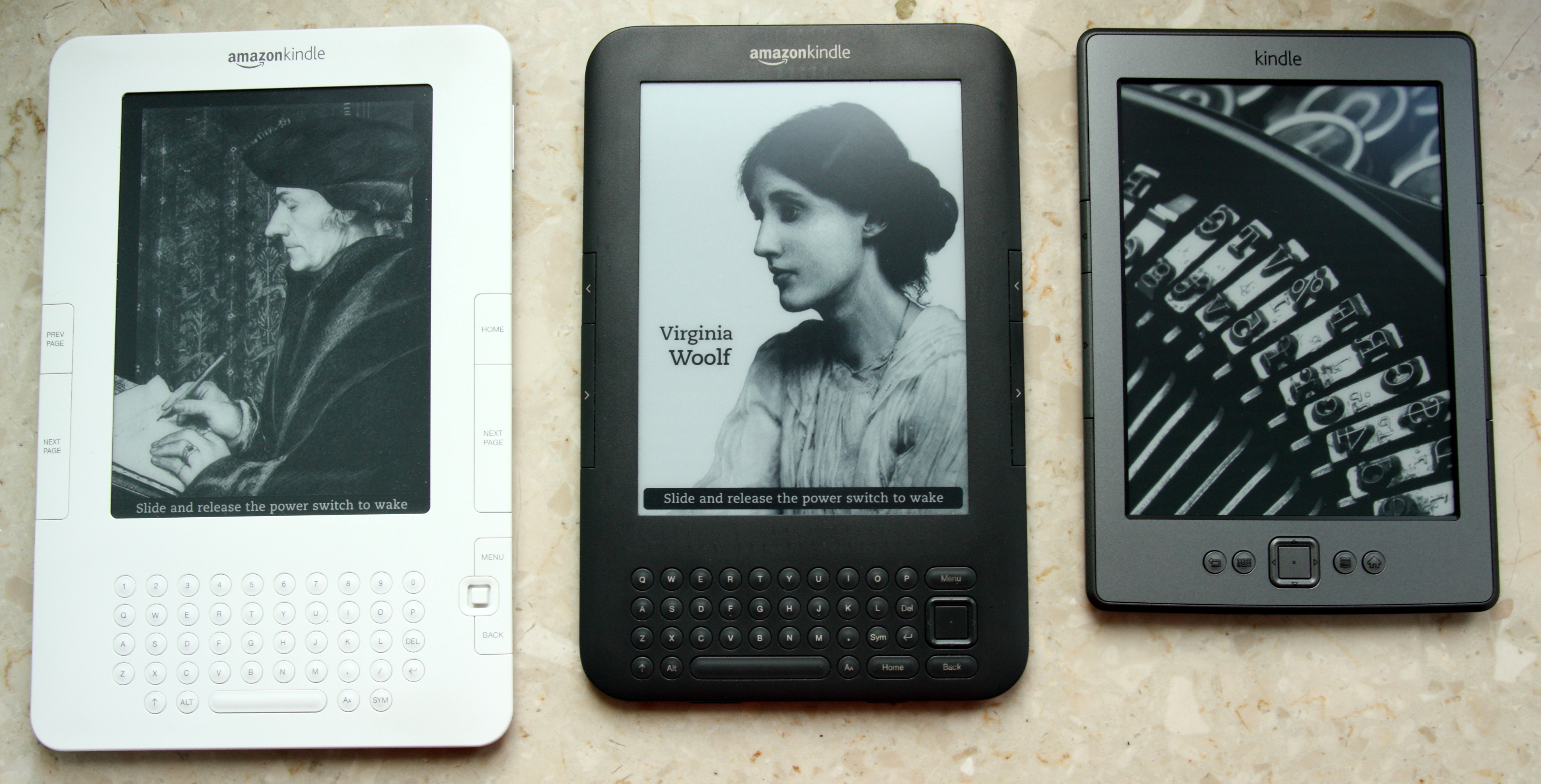 how to change kindle ereader