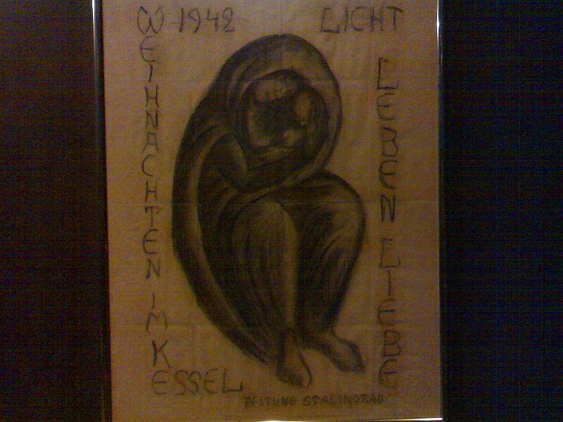 Filela Madonna Di Stalingrado Disegno Custodito A Berlino Chiesa