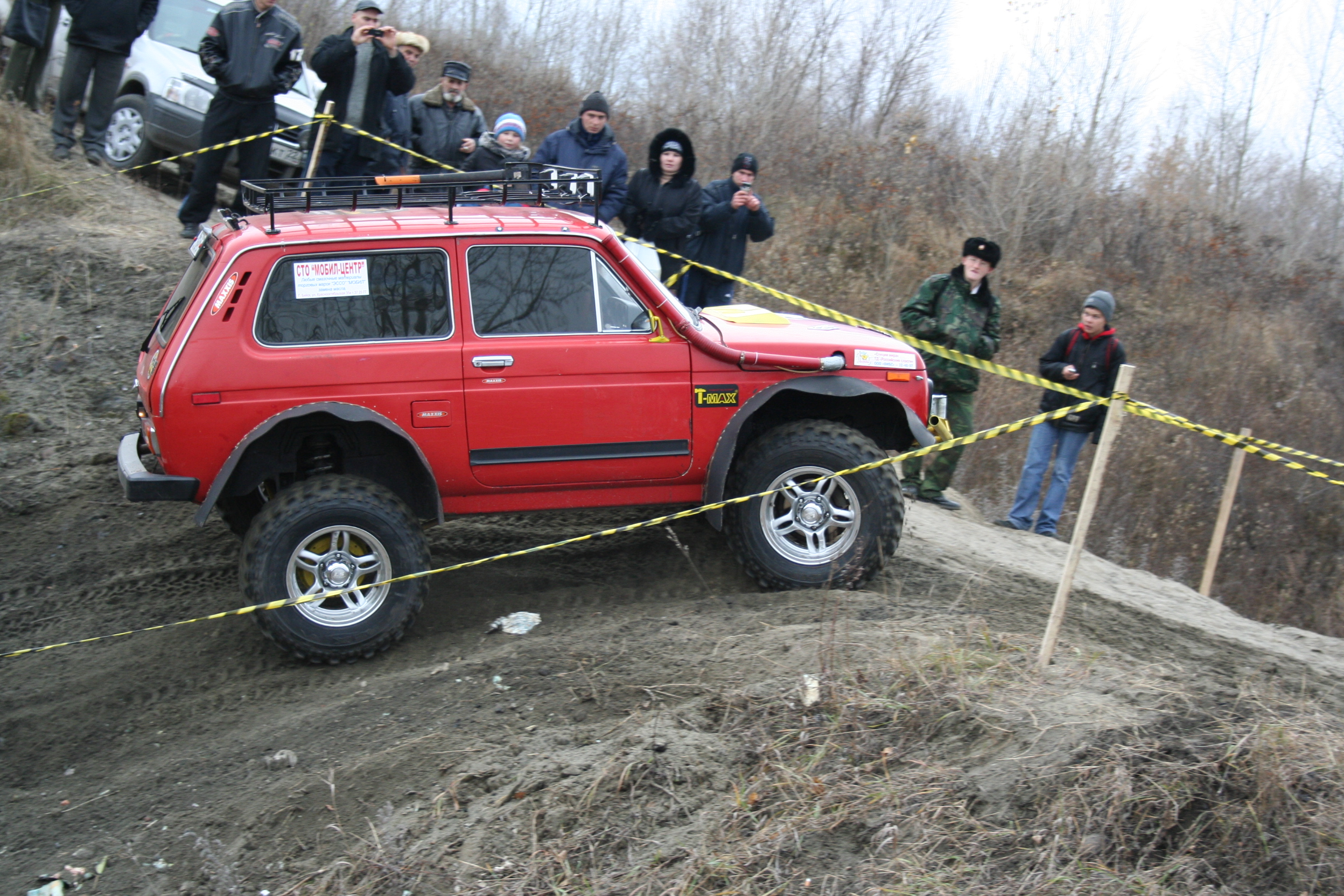 File Lada Niva On Competition Jpg Wikimedia Commons