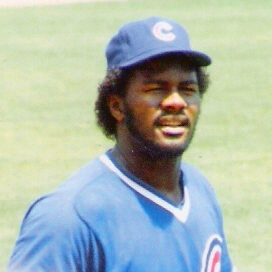 Cropped photo of Lee Smith, 1985.