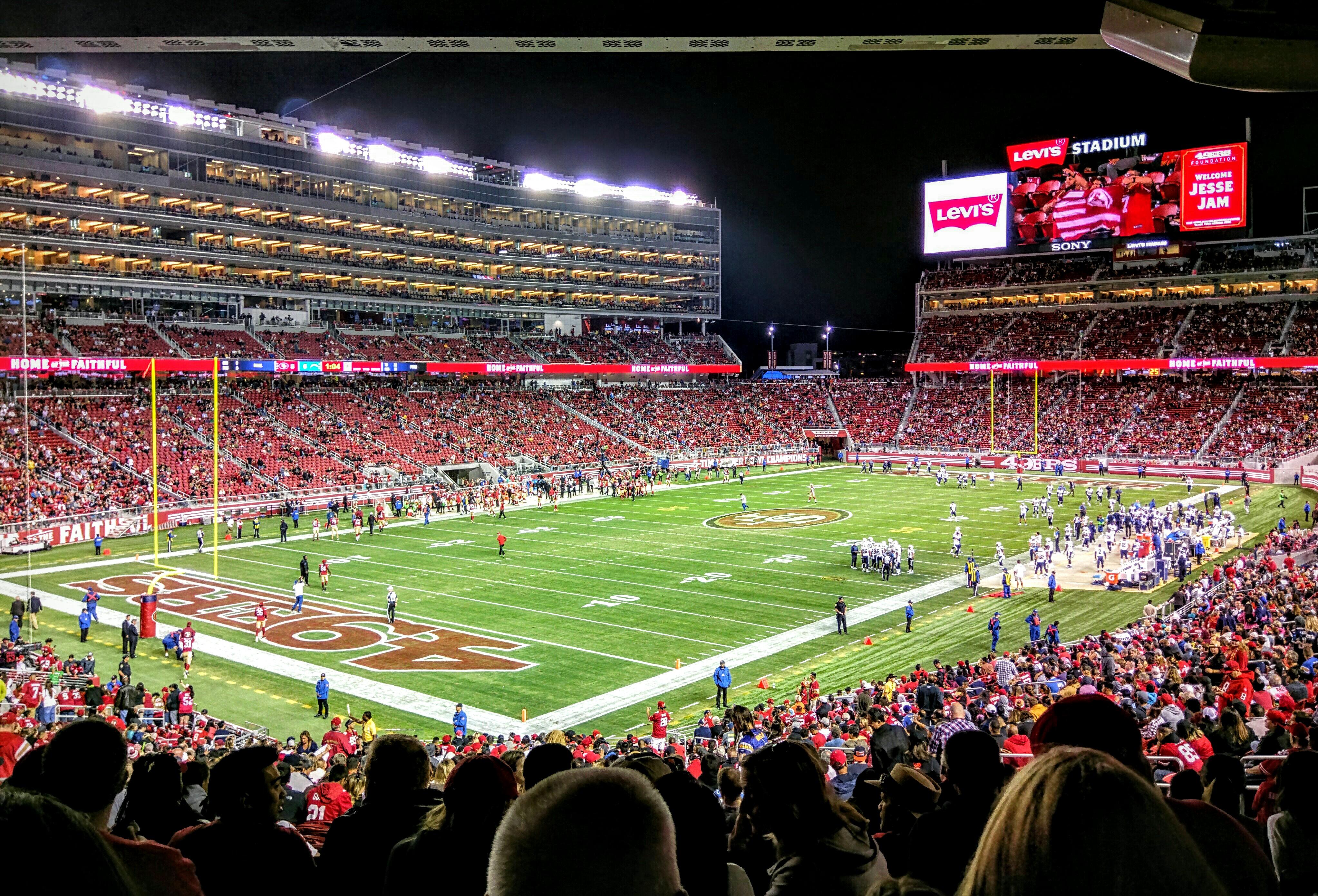 Super Bowl 50 Super Efficiency At Levi S Stadium Neef
