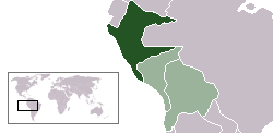 Location of North Peru
