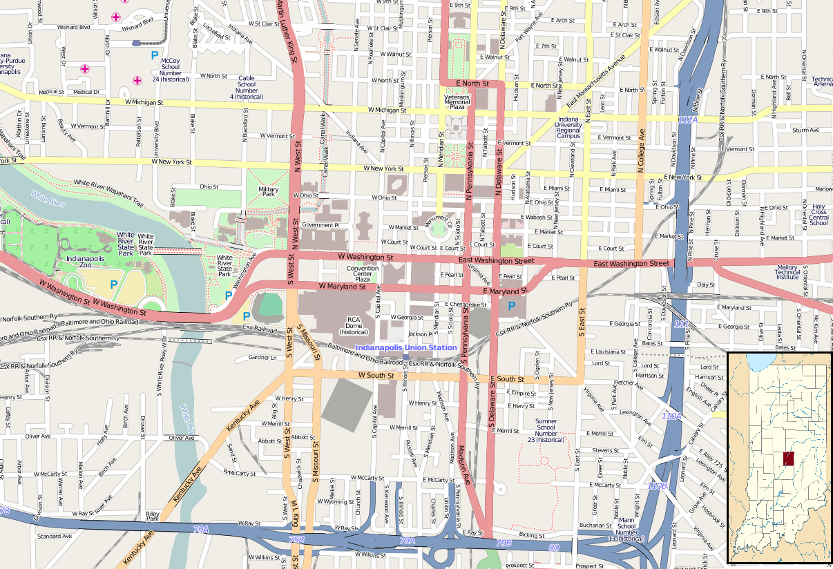 FileLocation Map Indianapolis Centralpng  Wikimedia Commons