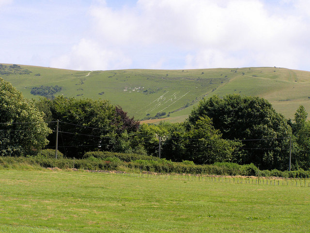 Long Man of Wilmington from Milton Street - geograph.org.uk - 866656