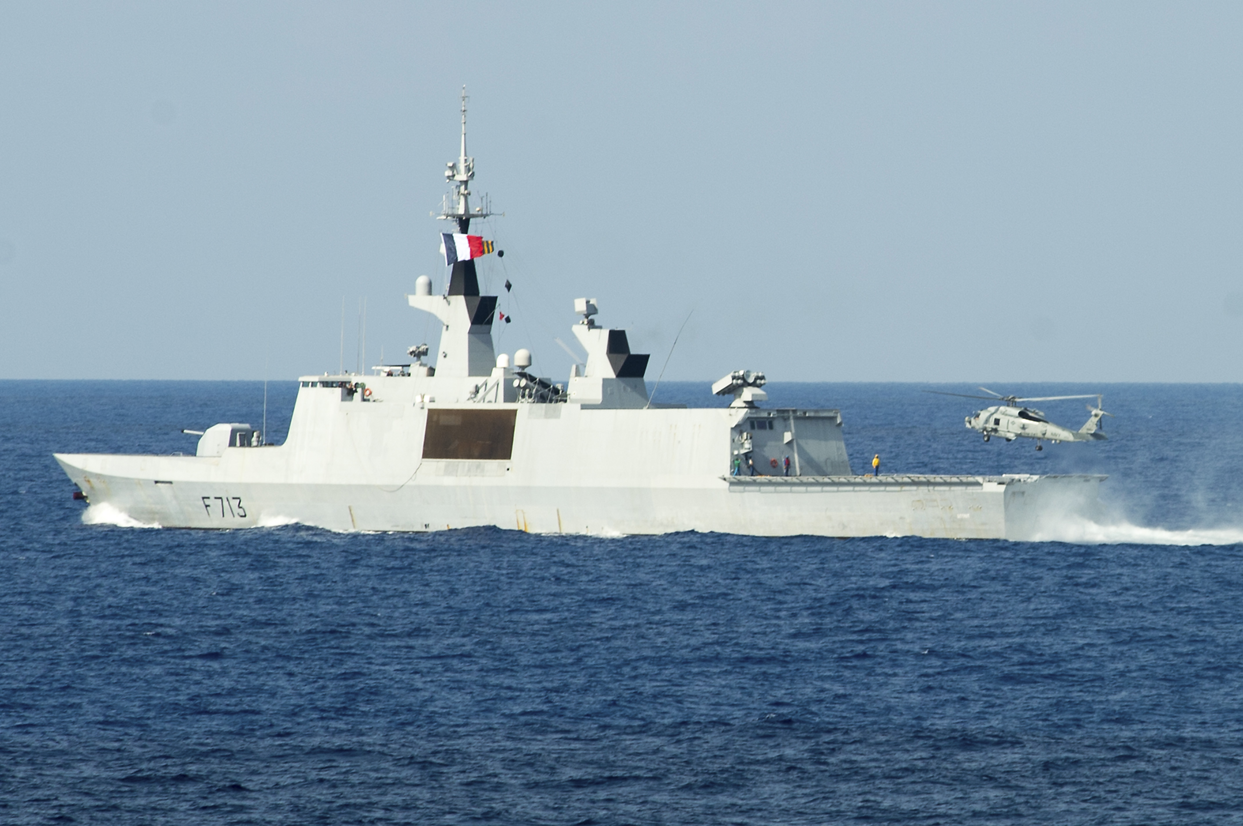 French Destroyer Aconit F65