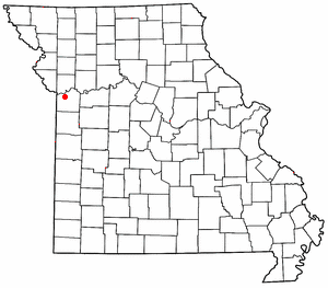 location of Independence Missouri, where the Donners and Reeds arrived on May 10, 1846