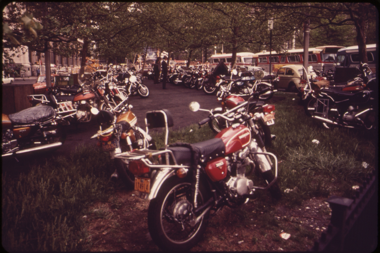 Image result for night motorbike parking