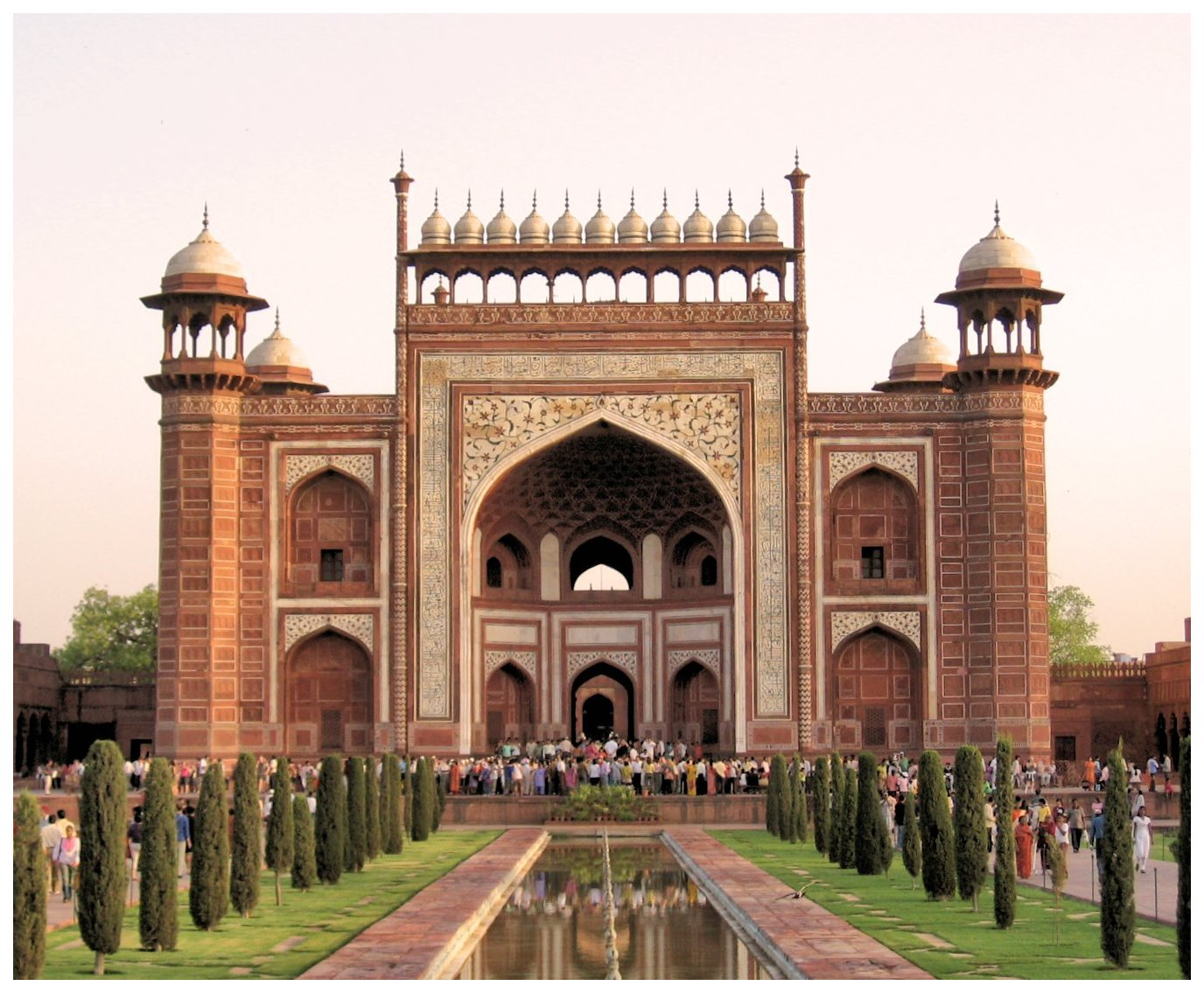 Image result for taj mahal gate