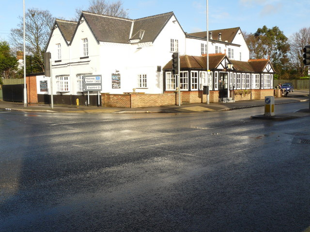 Manor Pub Restaurant on Nottingham Road Toton Corner - geograph.org.uk - 1058543