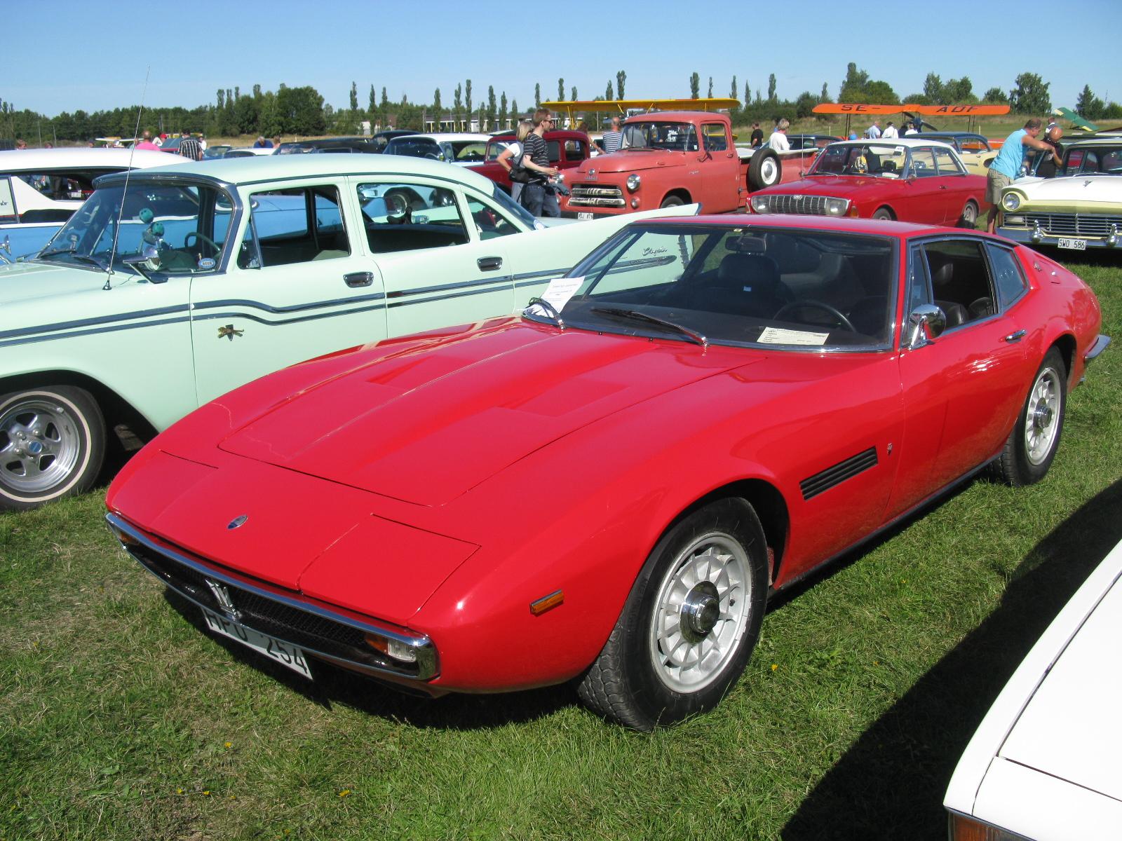 Maserati Ghibli (1967) - Wikipedia