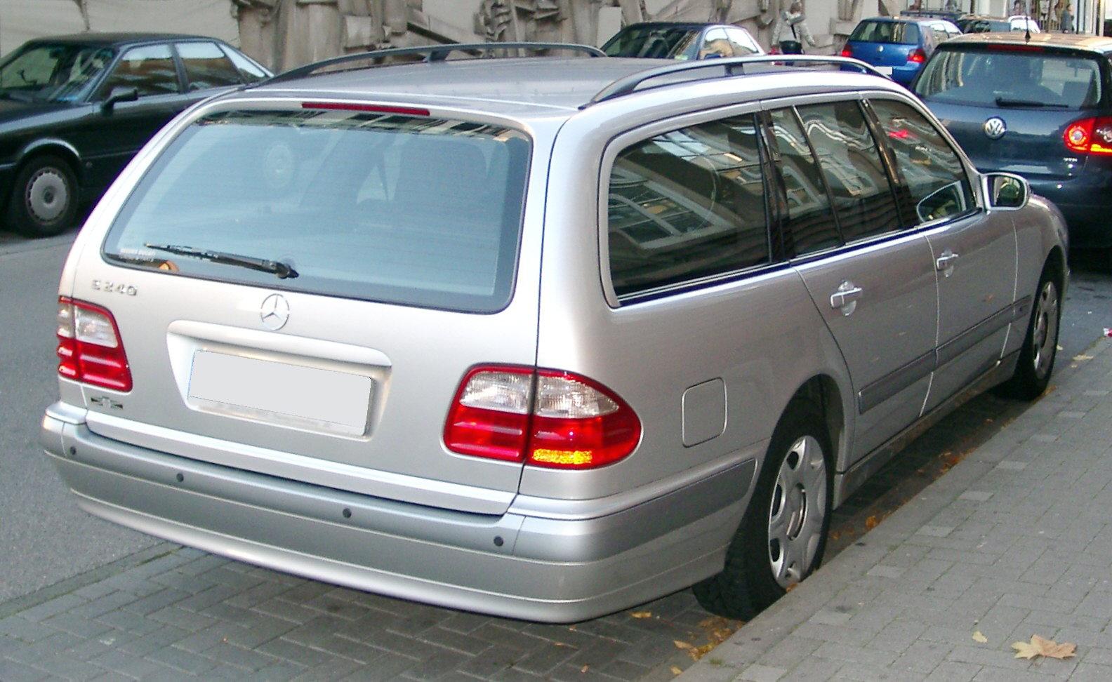 File Mercedes W210 Kombi Rear 20071106 Jpg Wikimedia Commons