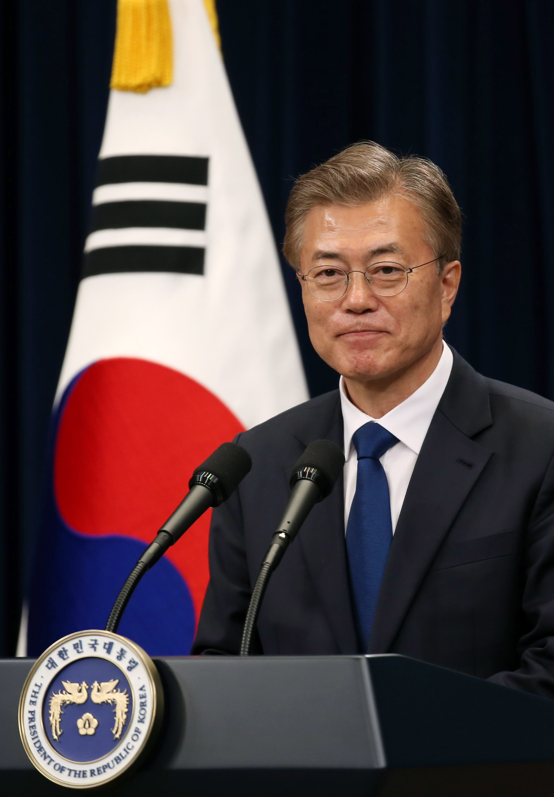 Image result for South Korea's President Moon Jae-in