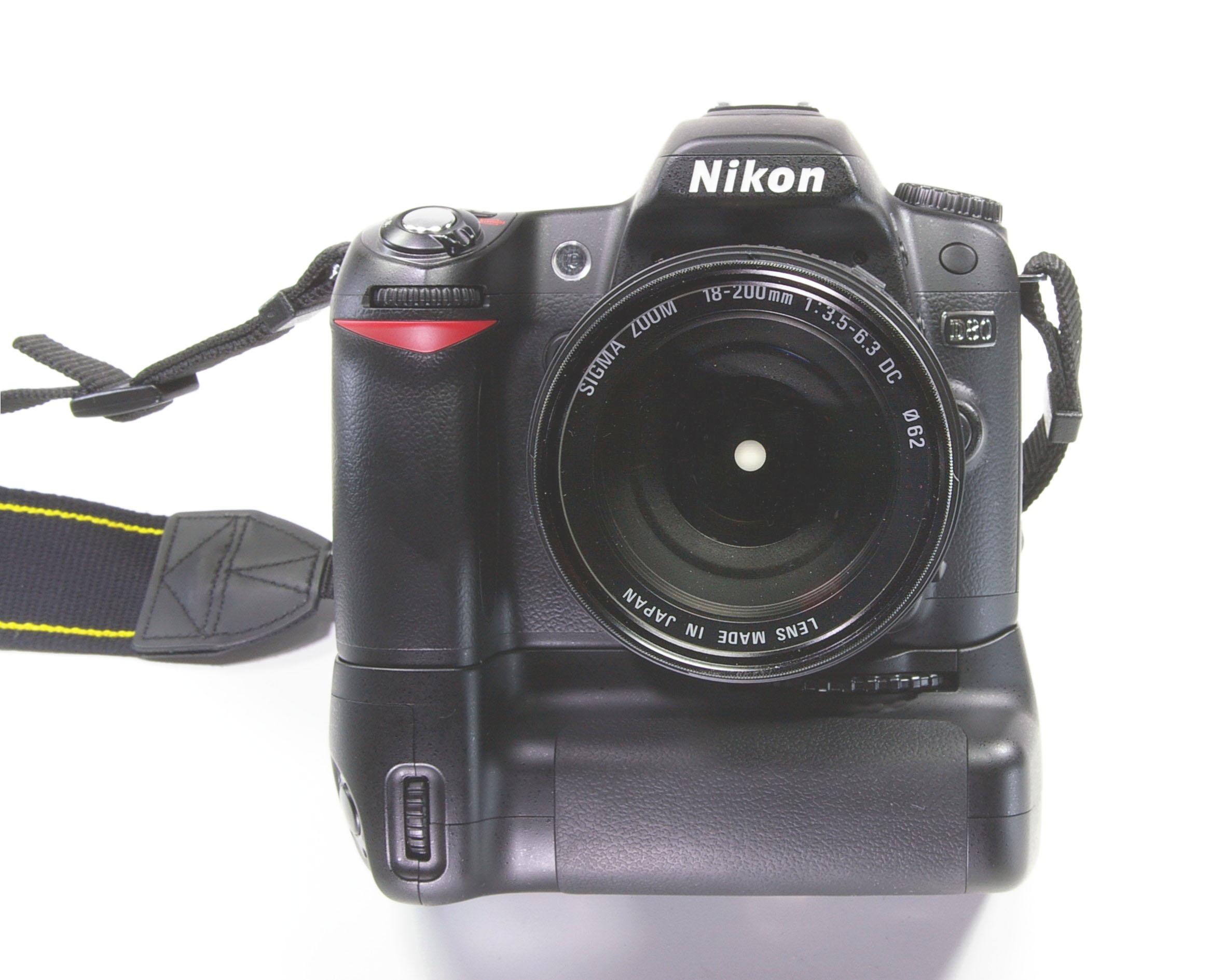 File:Nikon D80 Kamera....
