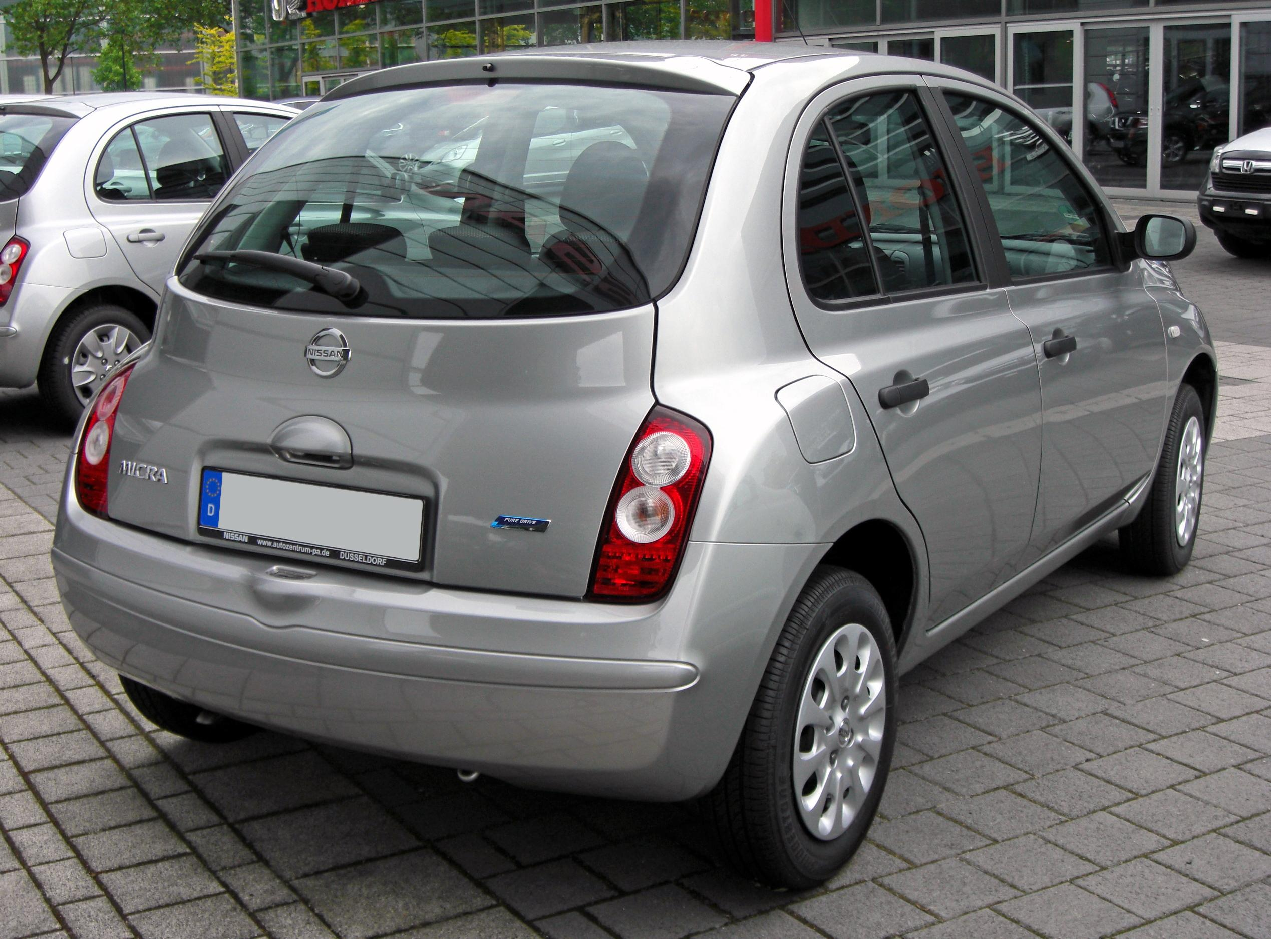 file nissan micra iii facelift 20090620 rear jpg wikimedia commons. Black Bedroom Furniture Sets. Home Design Ideas