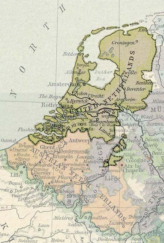 Deventer netherlands map