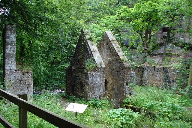 Old Gunpowder Mill in Roslin Glen - geograph.org.uk - 916976