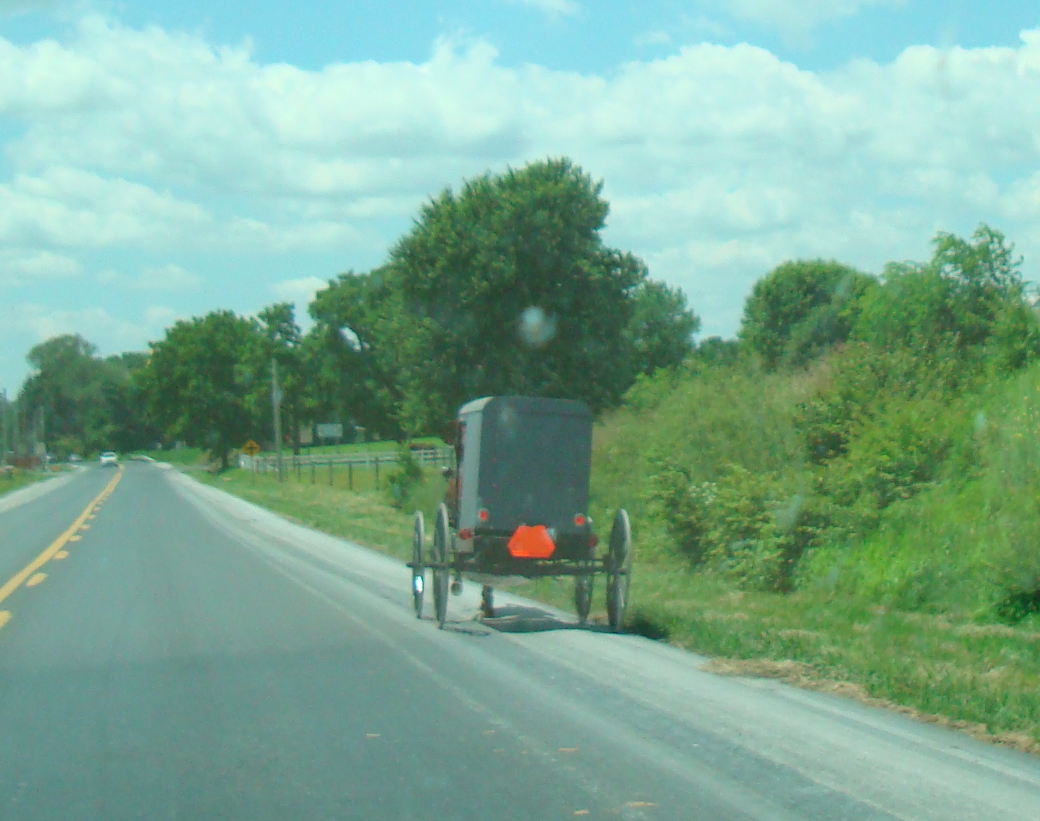 File:Old Order Amish horse and buggy in Intercourse, PA 2 crop.jpg