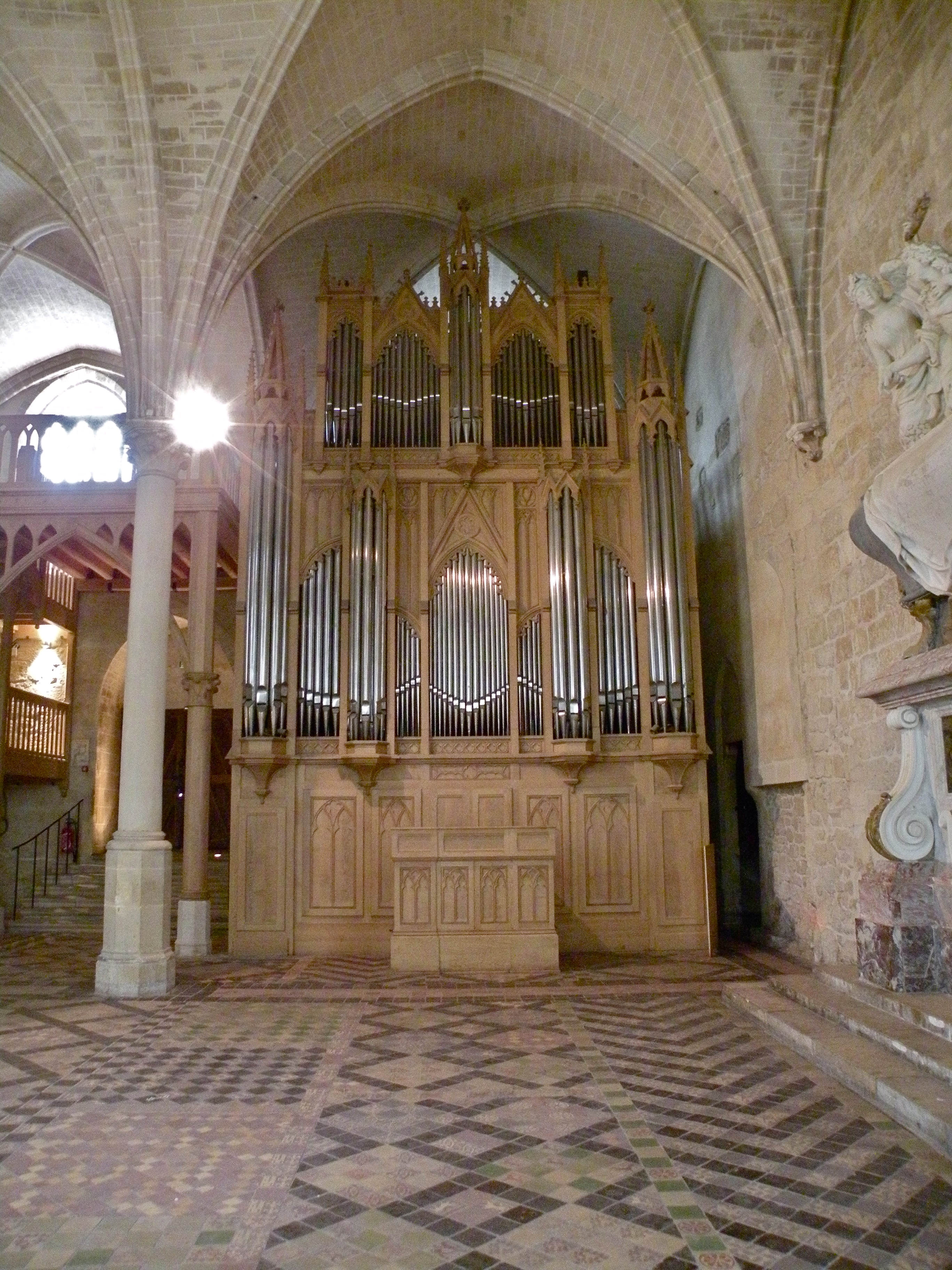 File Orgue R Fectoire Des Moines Abbaye De Royaumont Jpg Wikimedia Commons