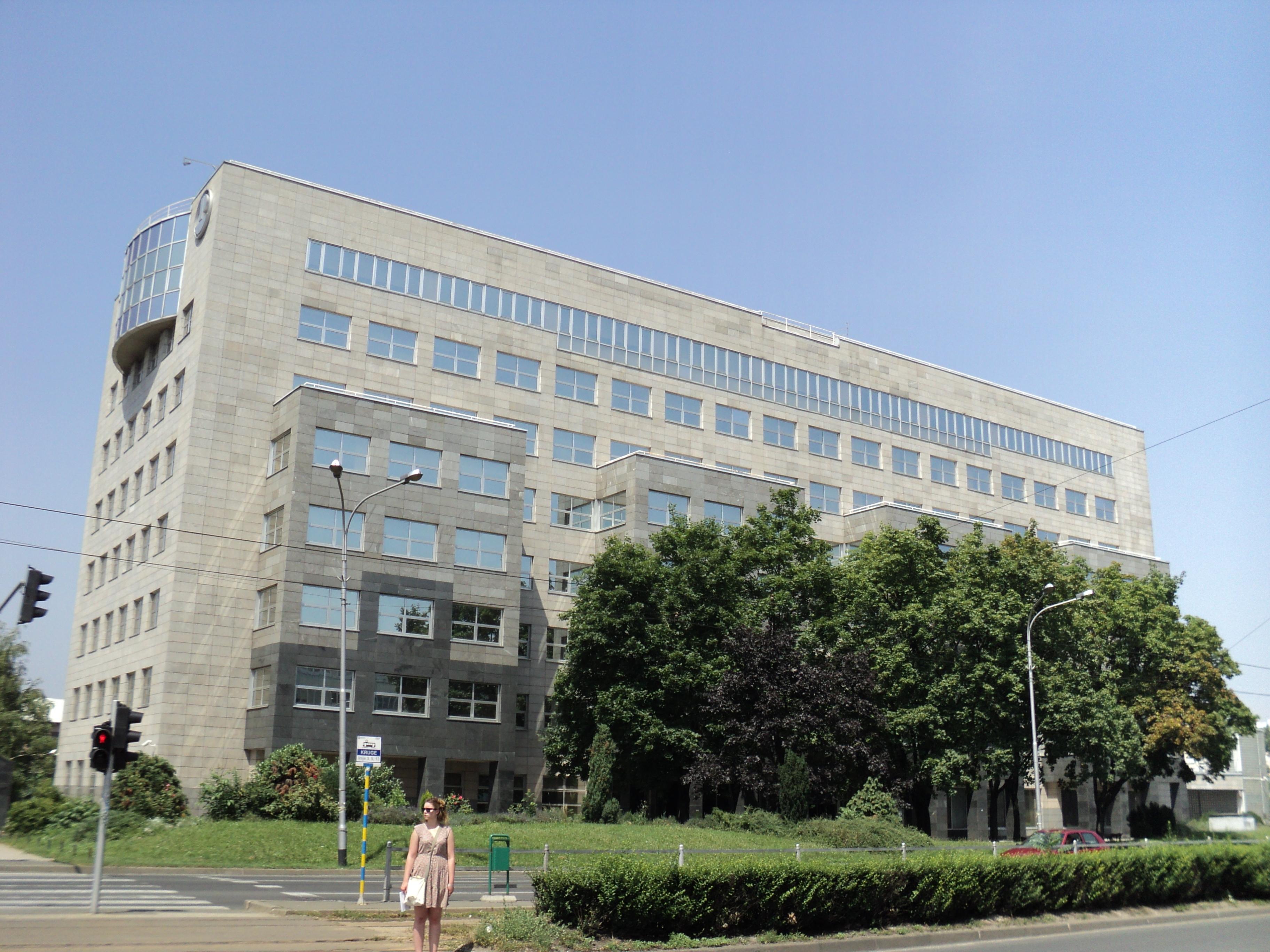 File Pliva Upravna Zgrada Zagreb Jpg Wikimedia Commons