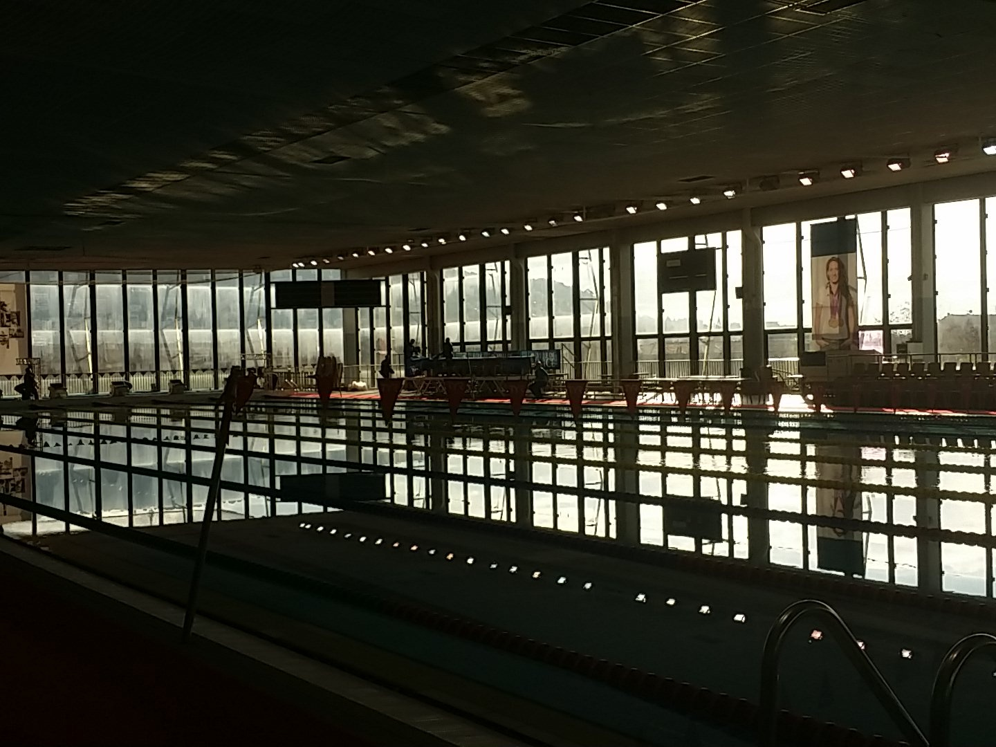 Palais des sports jean bouin wikip dia for Piscine olympique nice