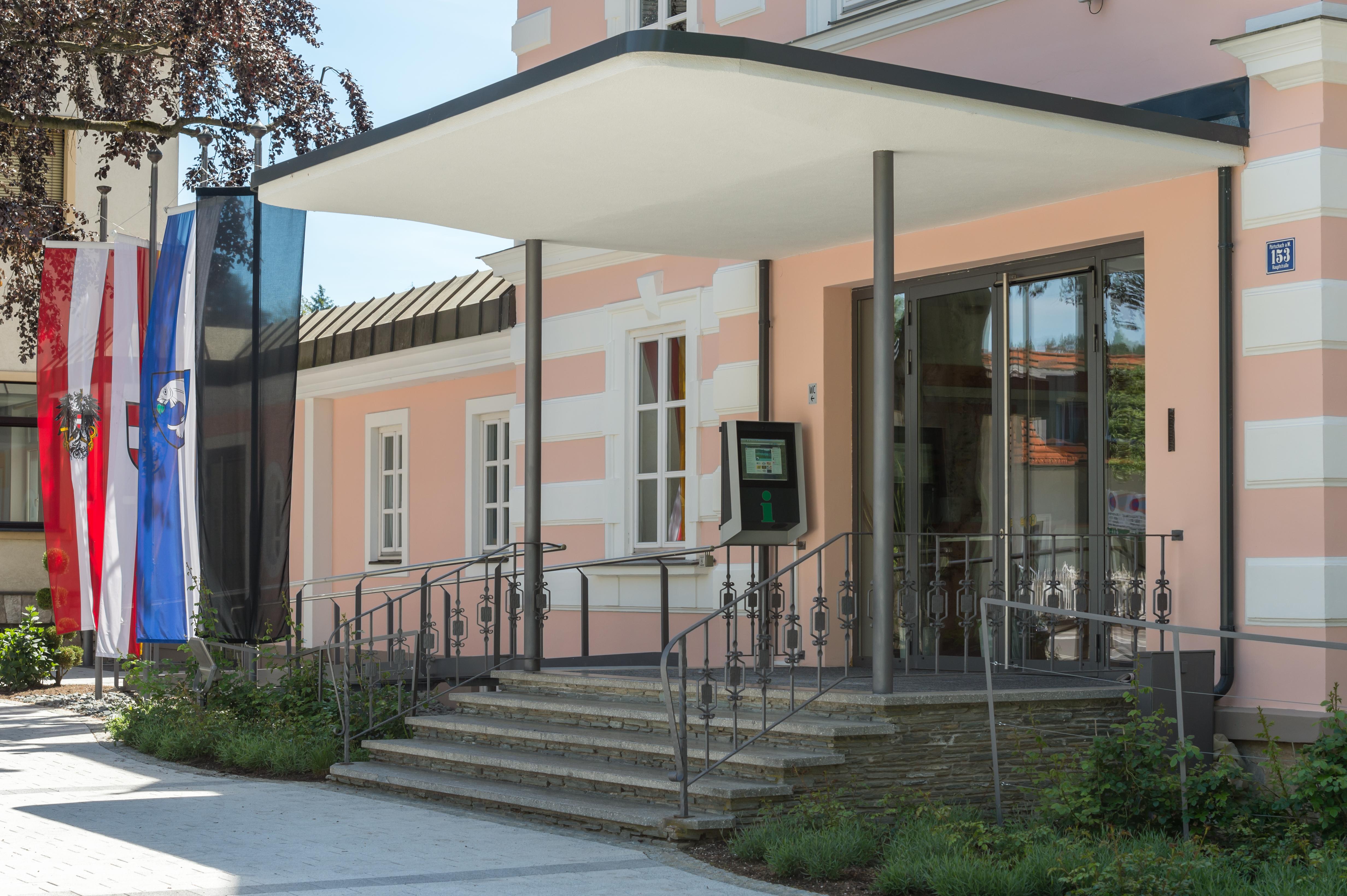 File Poertschach Hauptstrasse 153 Gemeindeamt Haupt Eingang Mit