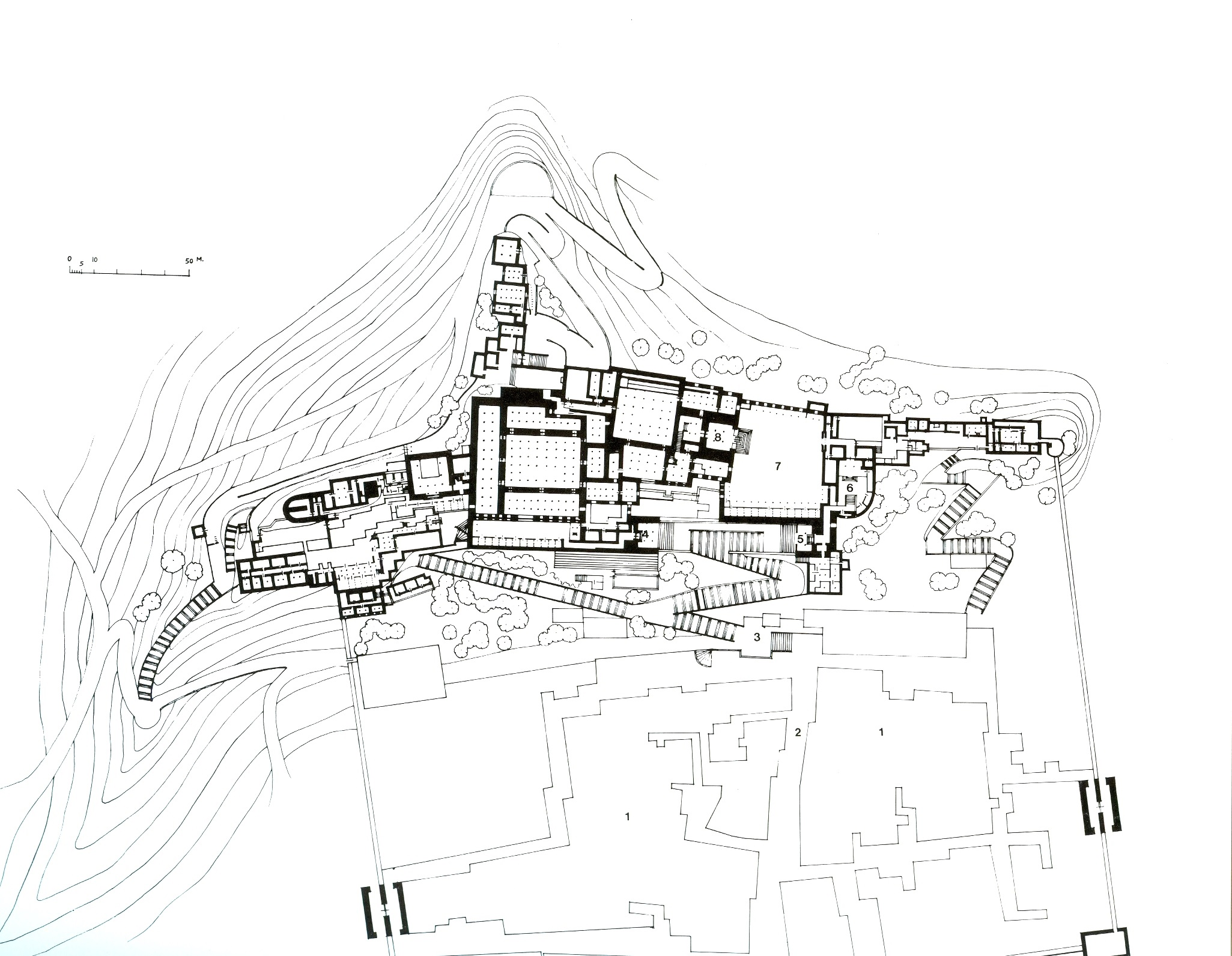 File:Potala_Palace_plan on Work Floor Plan Layout