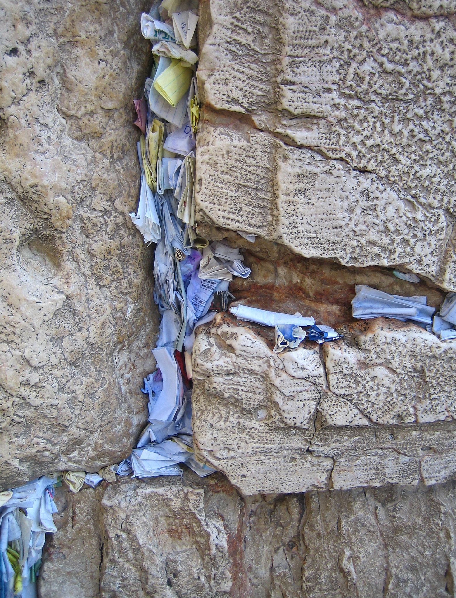 How to write a prayer for the wailing wall