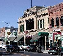 Image of downtown Prescott, Arizona