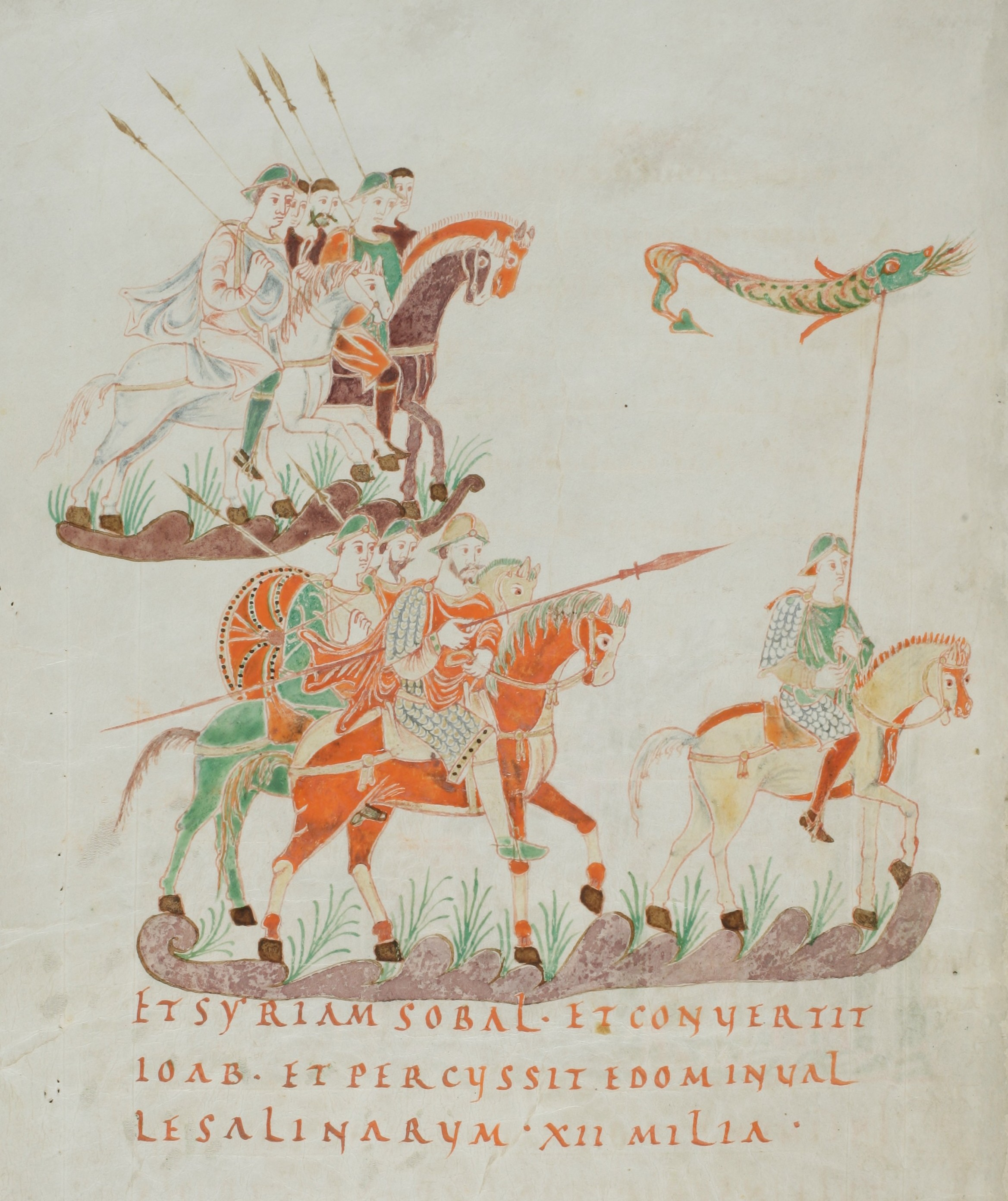 Image from Frankish Psalter