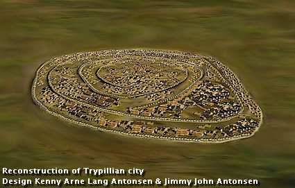 Reconstructed_Trypillian_city_c_4000_B.C