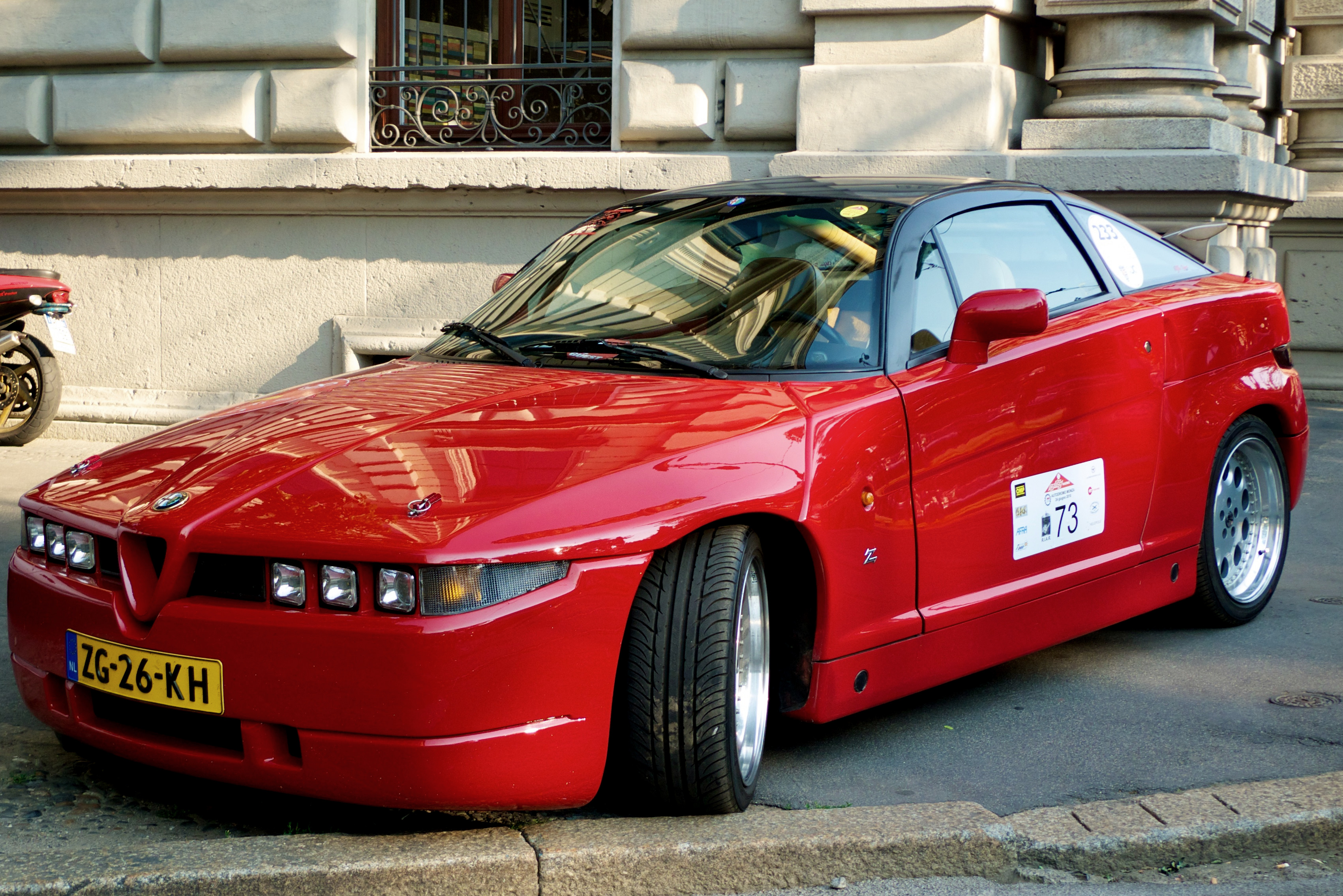 File Red Alfa Romeo Sz Jpg Wikimedia Commons