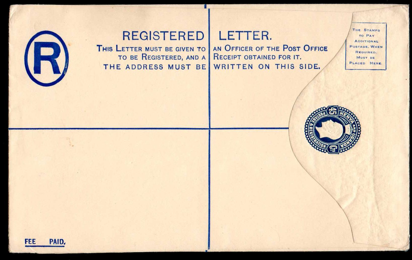 registered envelope - wikipedia
