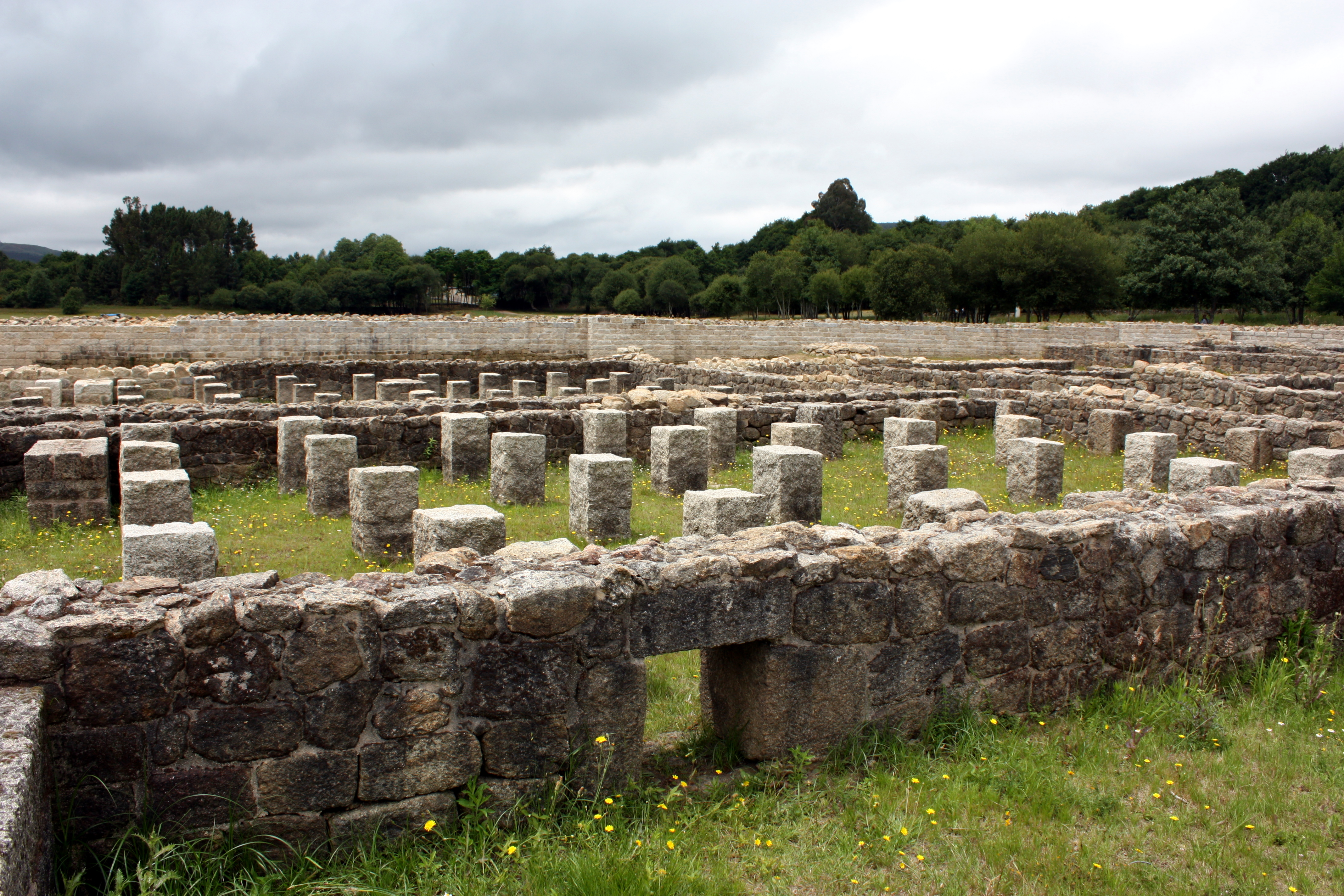 Delightful File:Roman Camp Aquis Querquennis, Baños De Bande, Ourense, Galicia 28