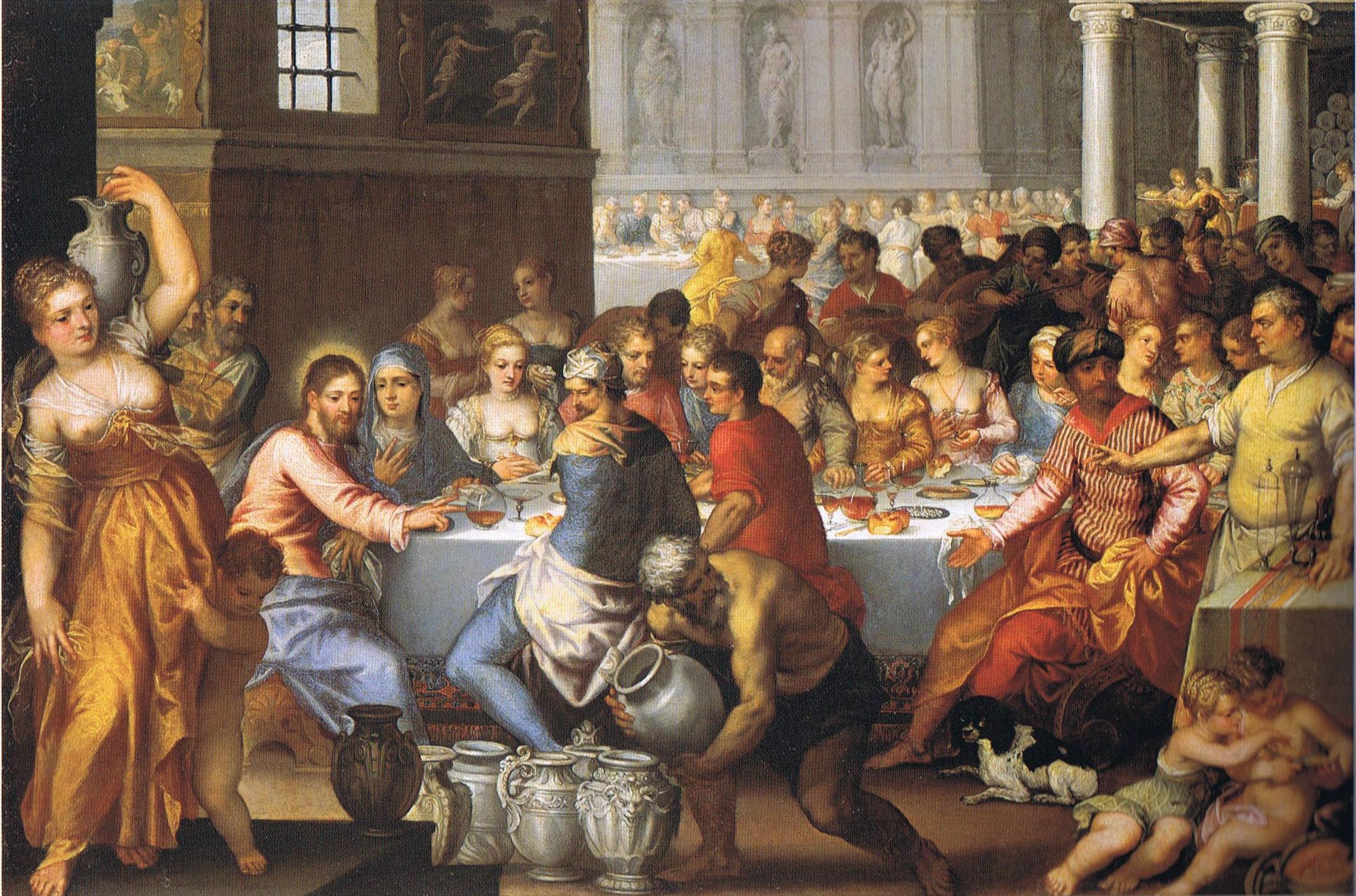 File:Rottenhammer Hochzeit zu Kana.jpg - Wikimedia Commons