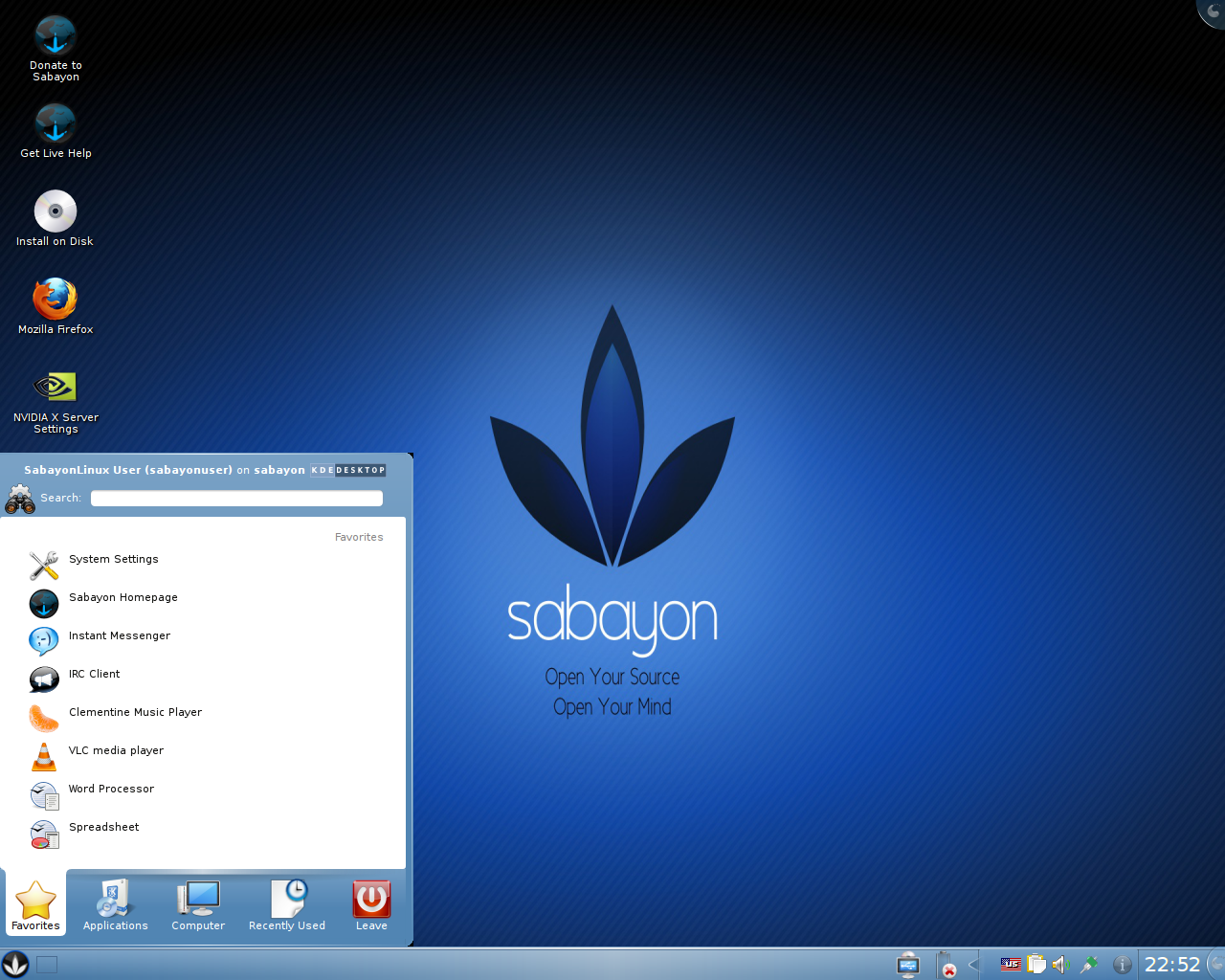 File:Sabayon 5.2 screenshot.png - Wikimedia Commons