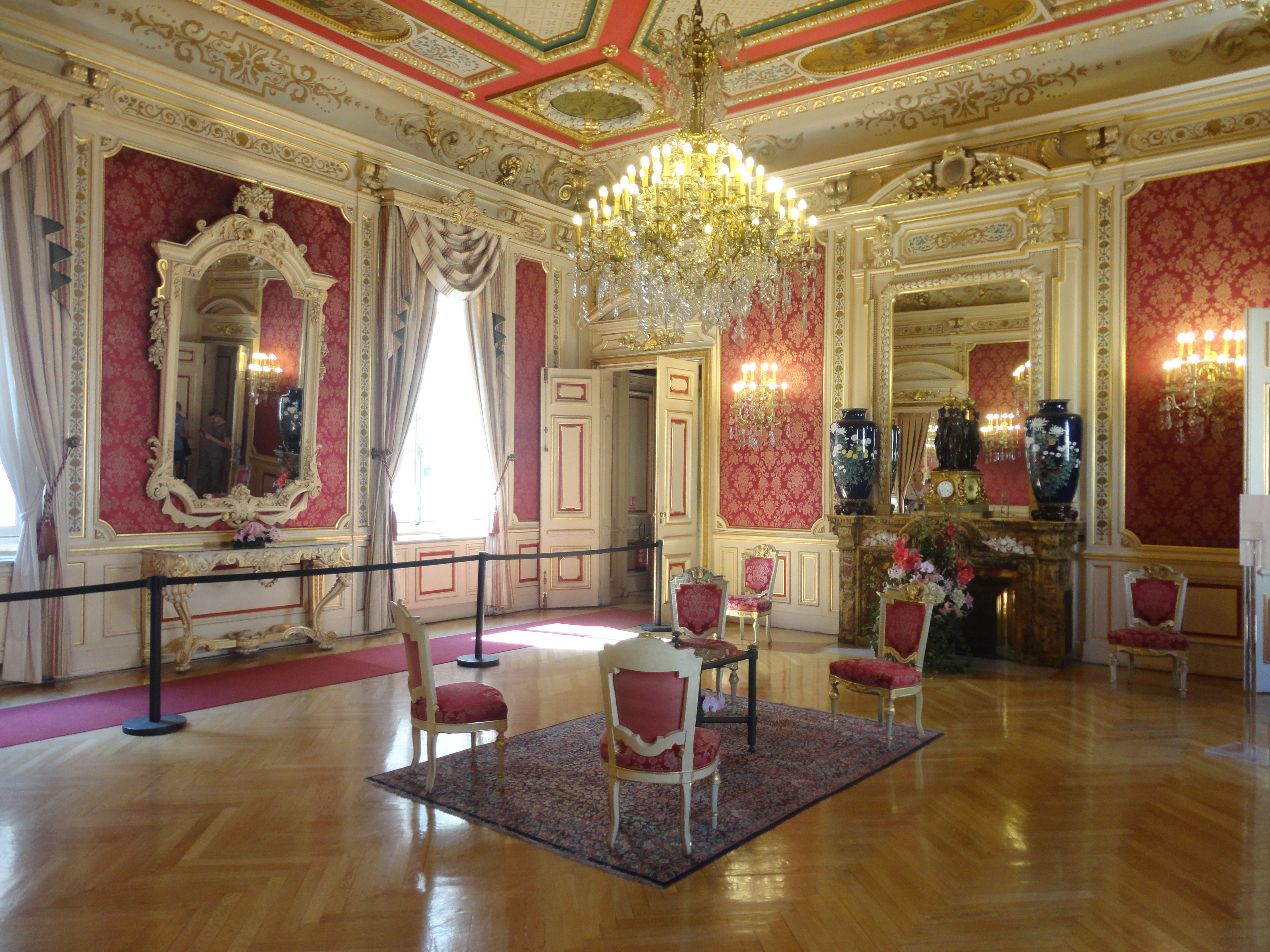 Datei salon rouge h tel de ville de lyon 1 jpg wikipedia - Salon de l emploi lyon ...