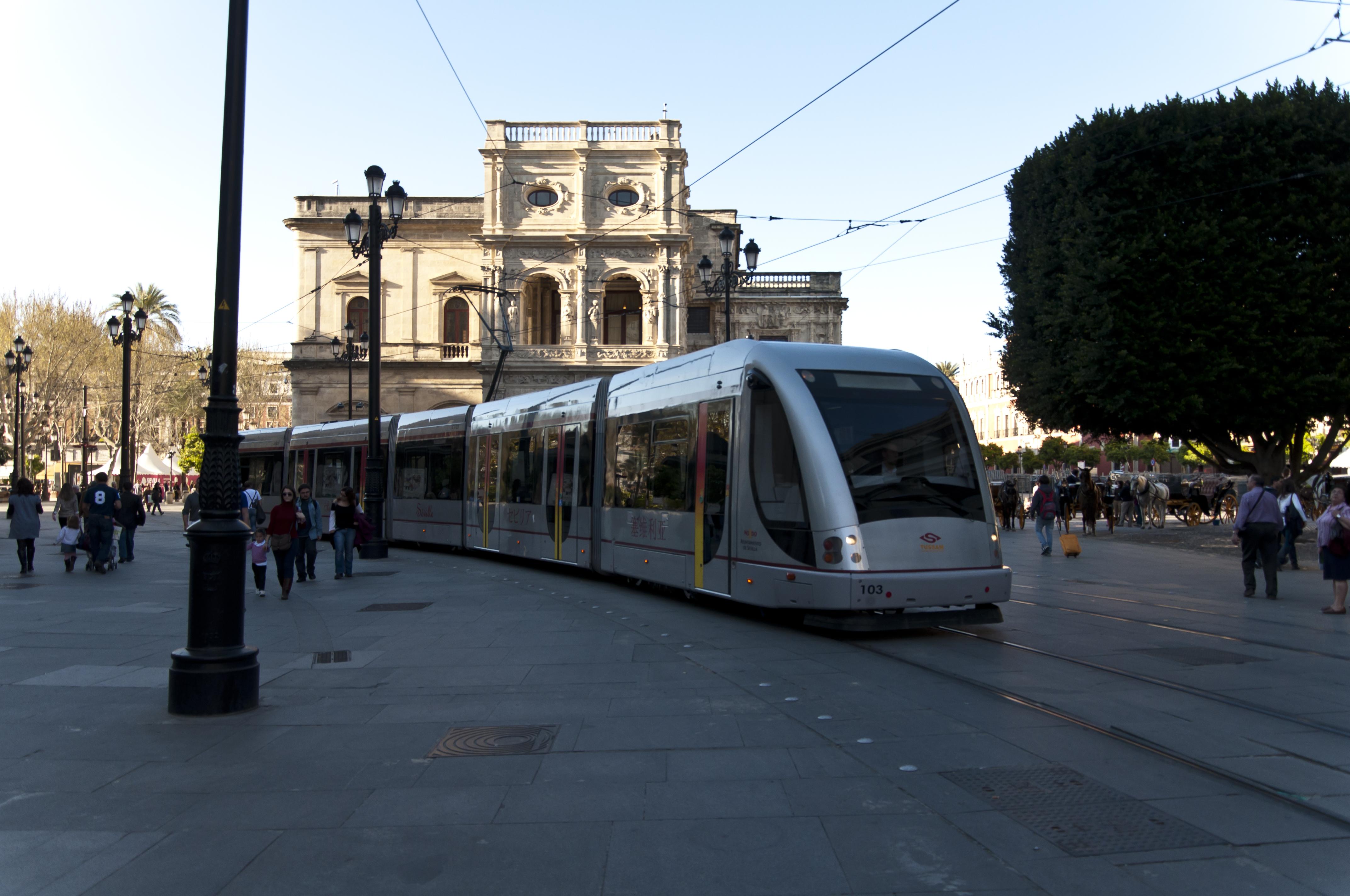 Seville Tram.