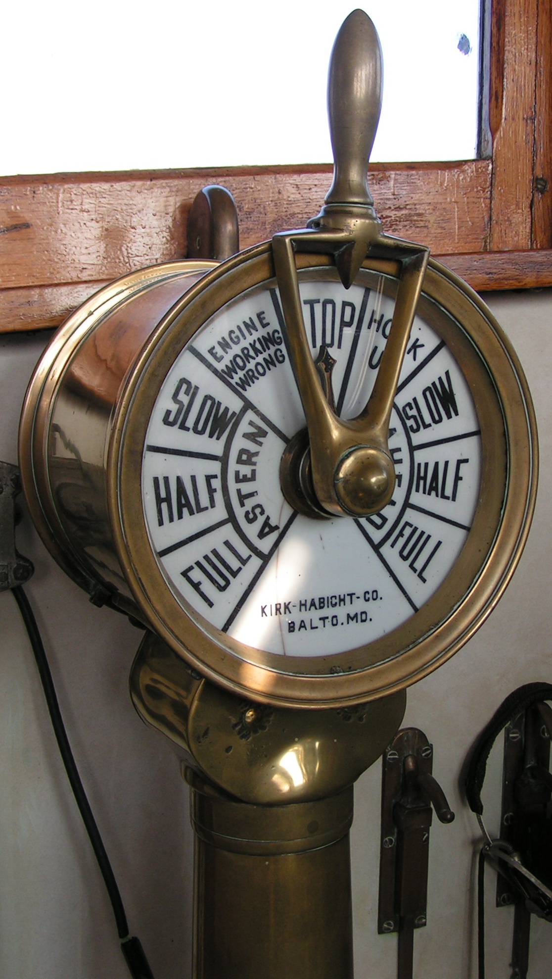 Engine Room Telegraph: So How About The Engine Room Of An Actual Steam Ship