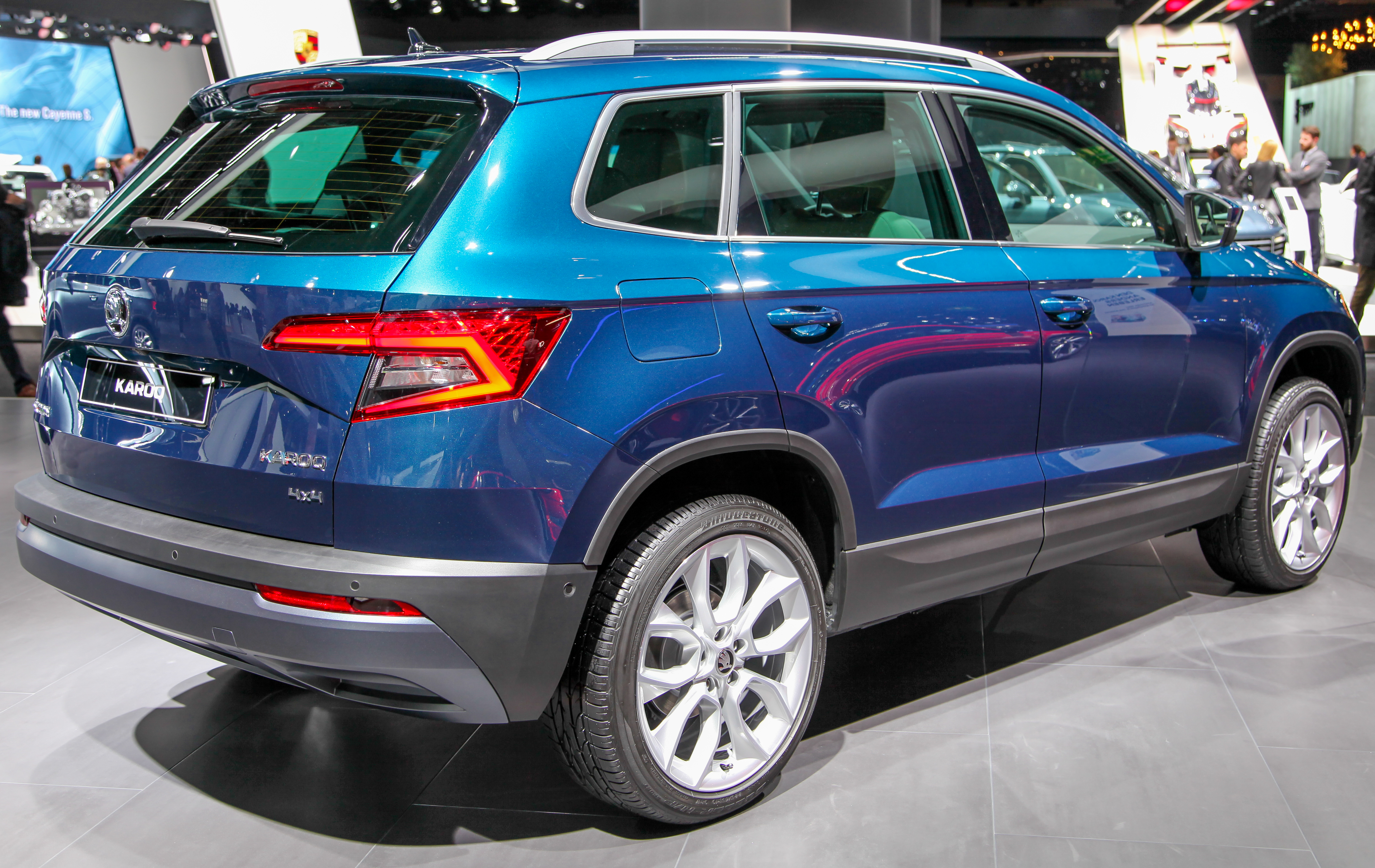 file skoda karoq back img wikimedia commons. Black Bedroom Furniture Sets. Home Design Ideas